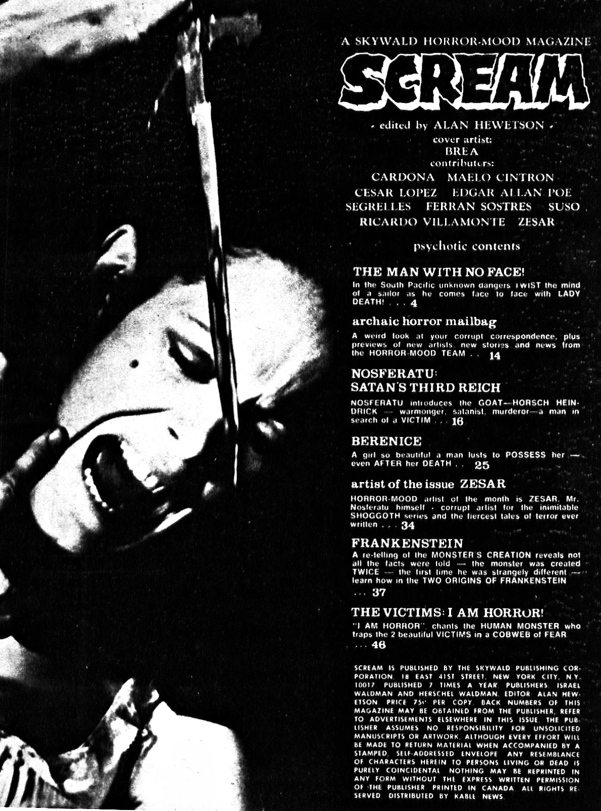 Scream (1973) issue 7 - Page 3