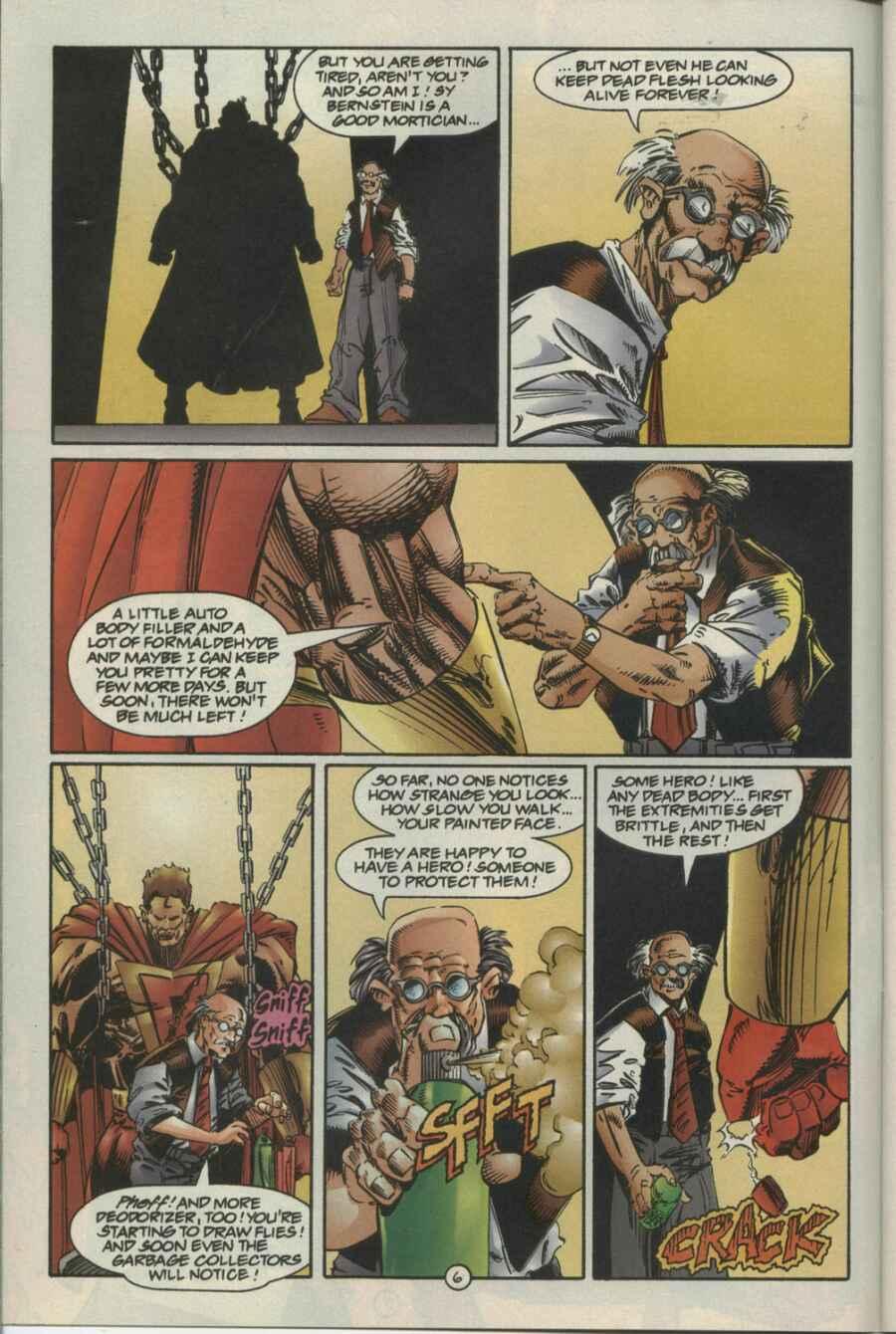 Read online Ultraverse Premiere comic -  Issue #4 - 6