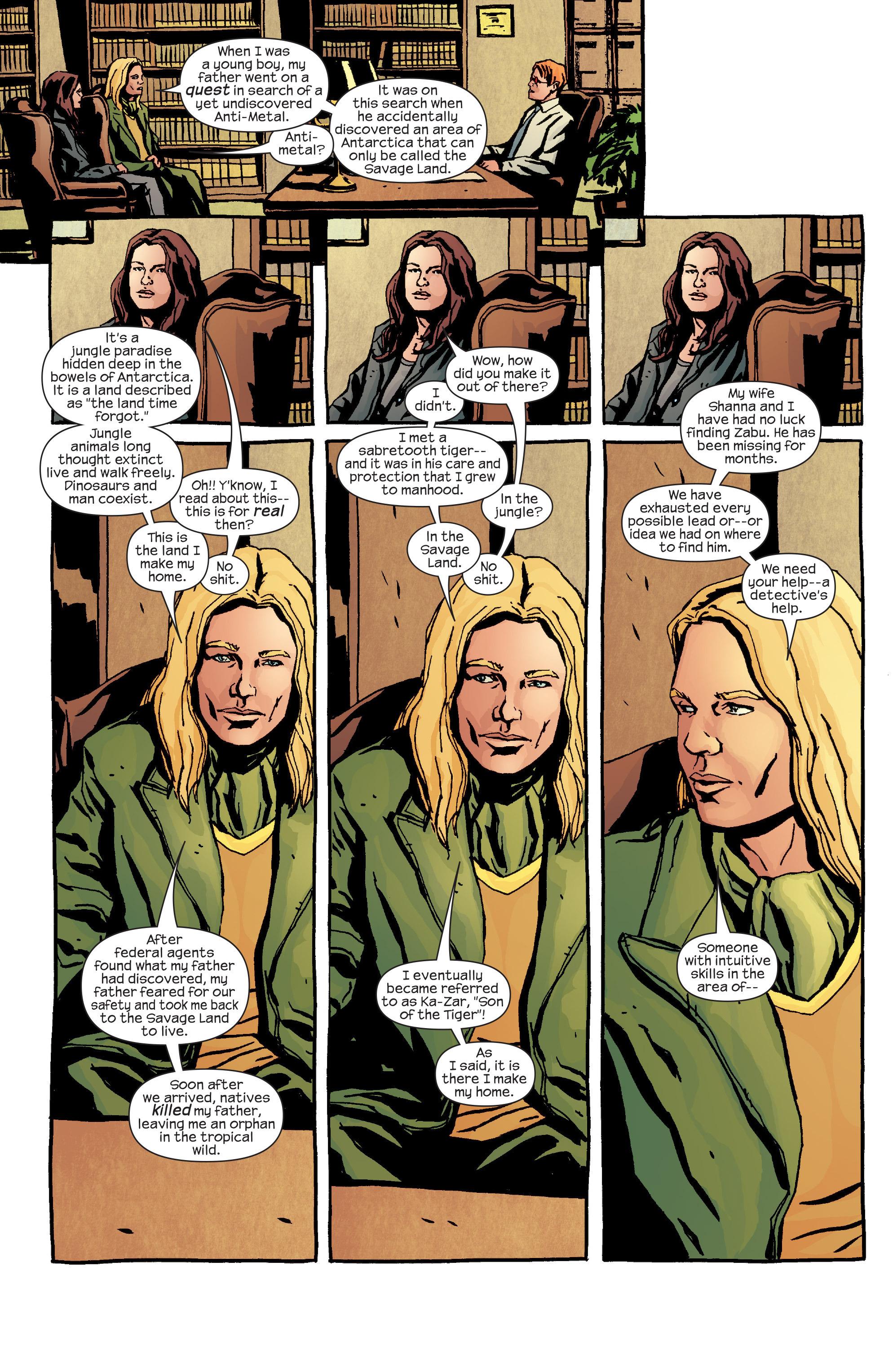 Read online Alias comic -  Issue #24 - 4
