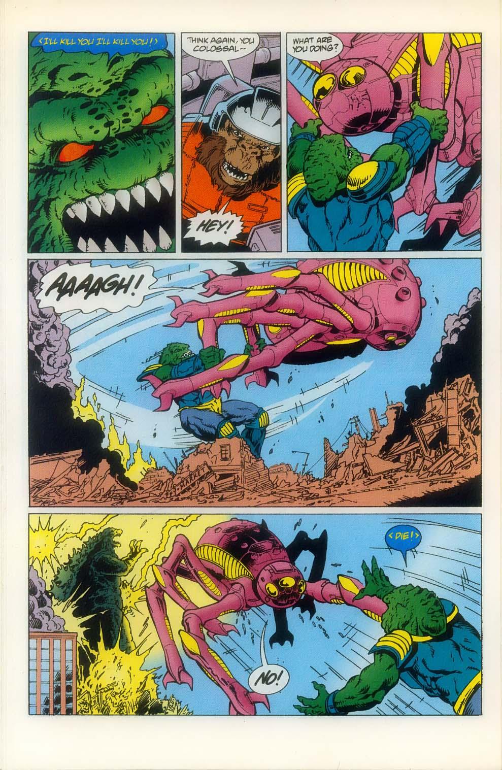 Godzilla (1995) Issue #8 #9 - English 20