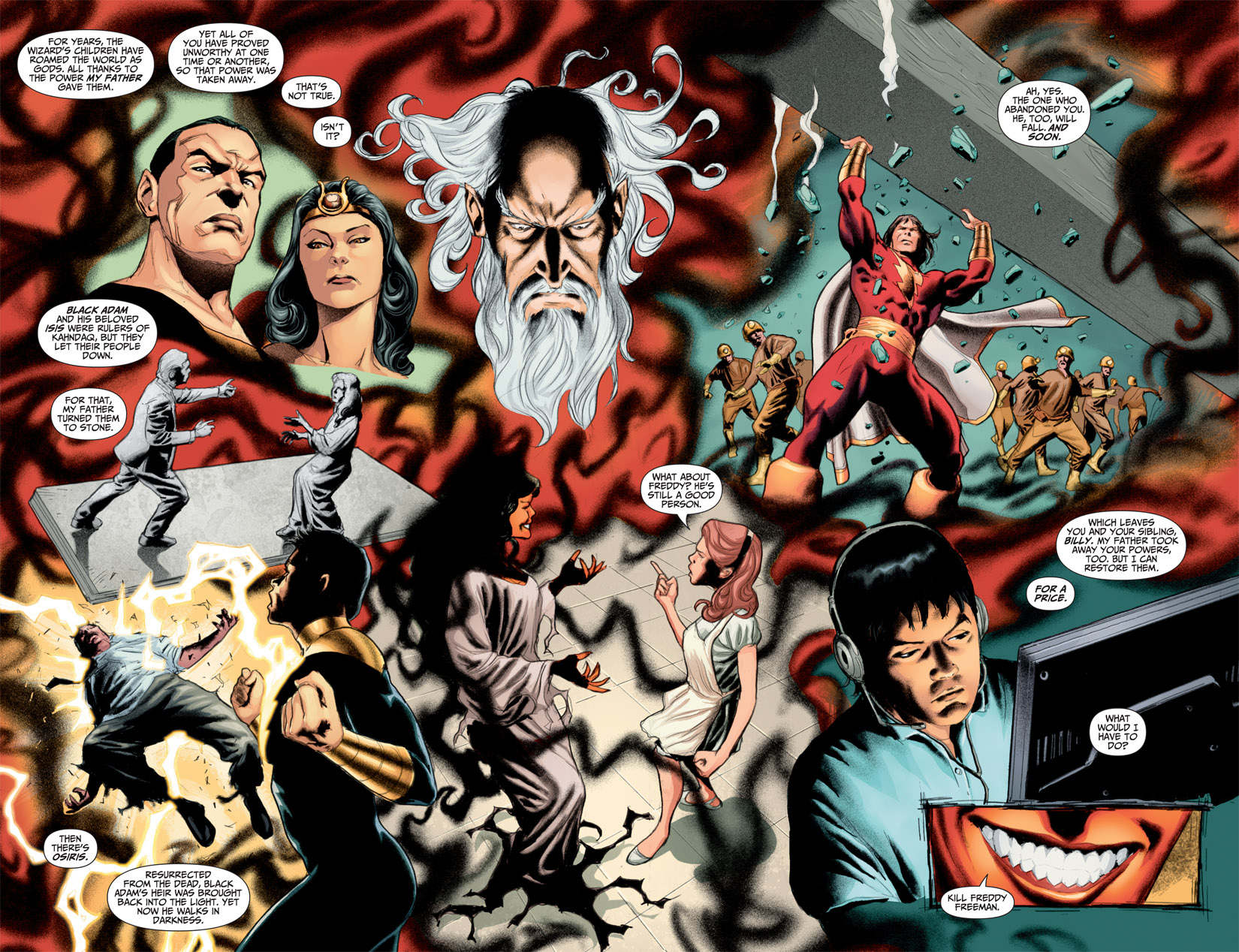 Read online Shazam! (2011) comic -  Issue #1 - 7