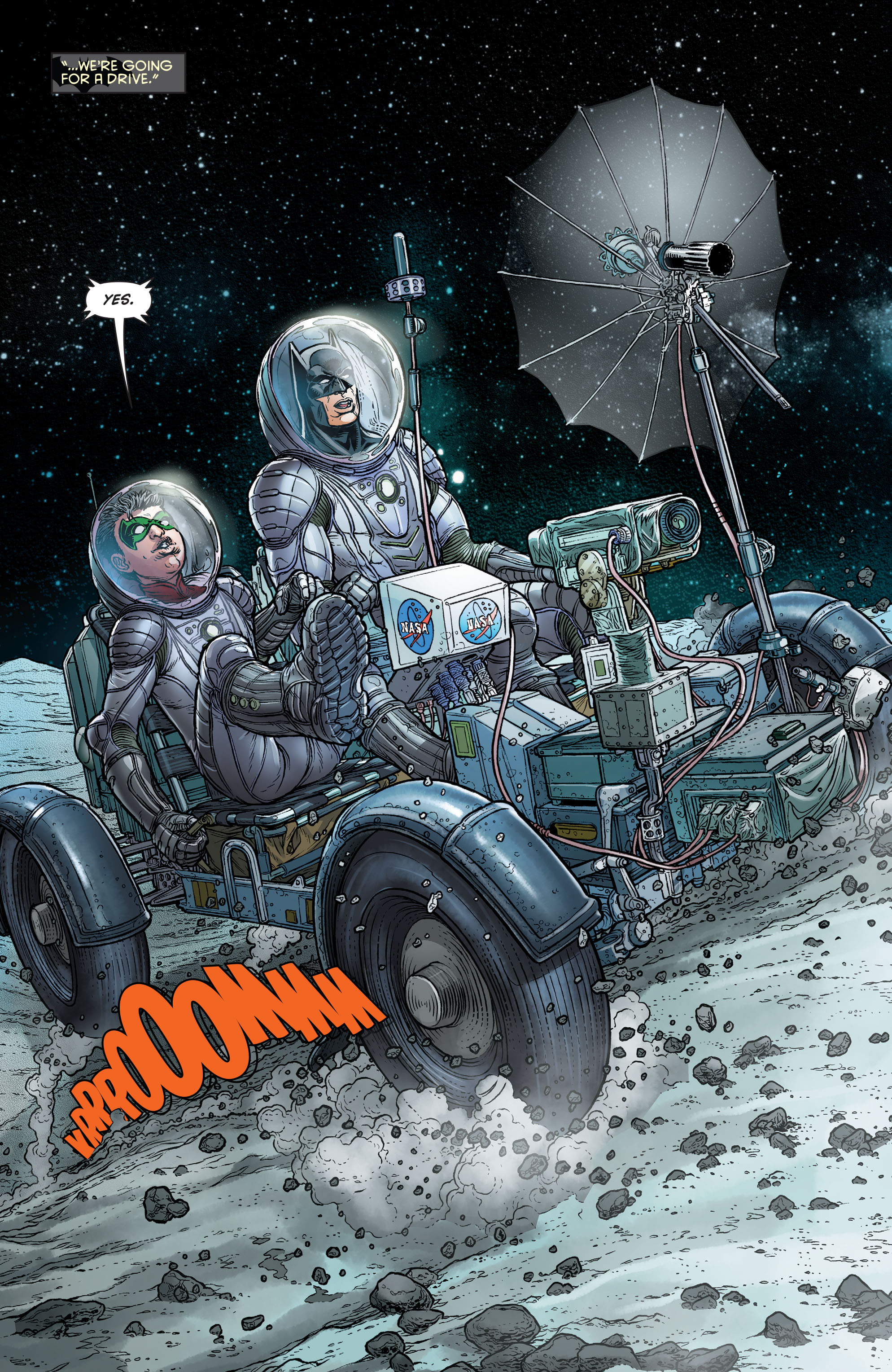 Read online Batman and Robin (2011) comic -  Issue # Annual 3 - 9