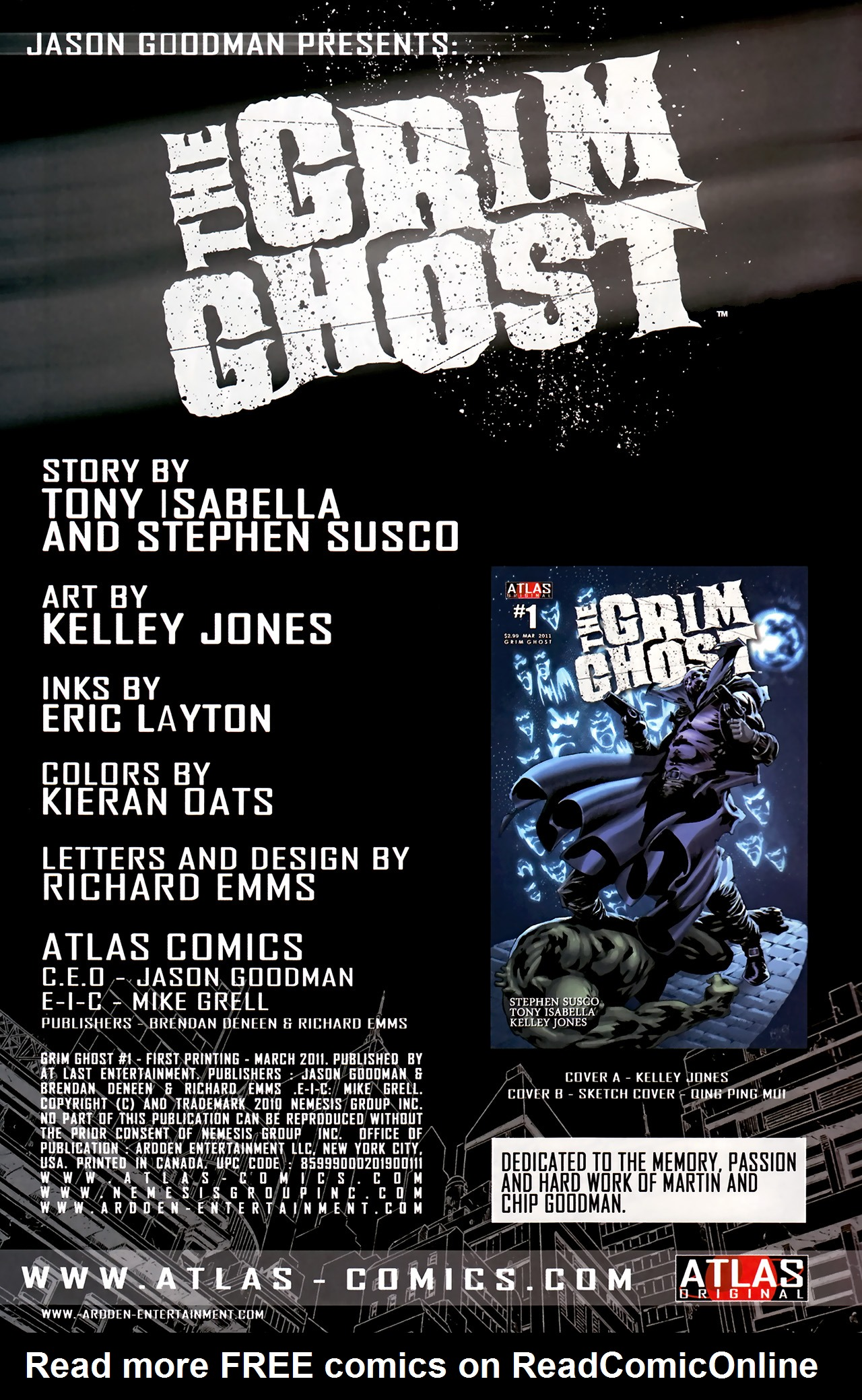 Read online The Grim Ghost comic -  Issue #1 - 3