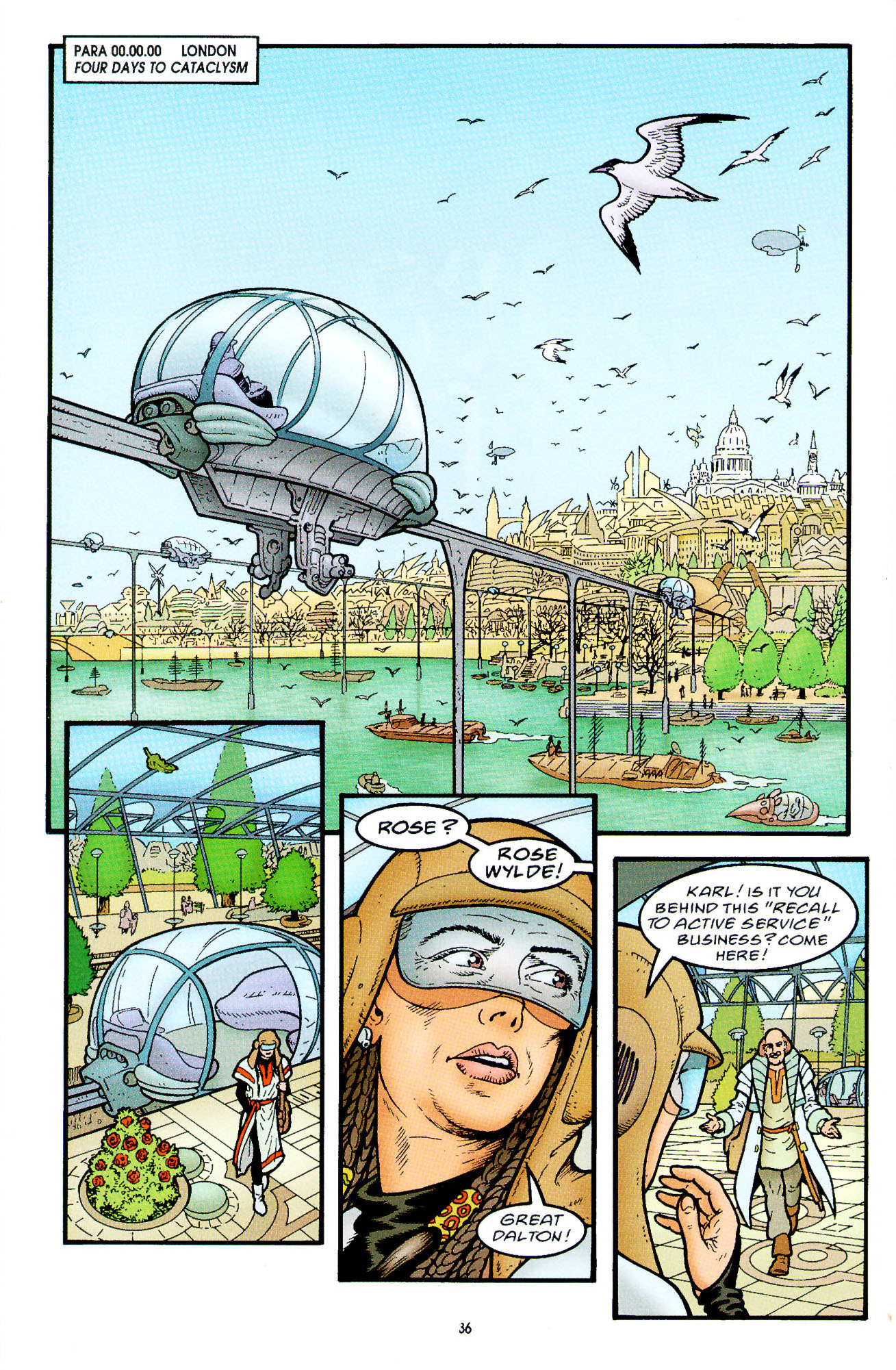 Read online Heart of Empire comic -  Issue #2 - 4