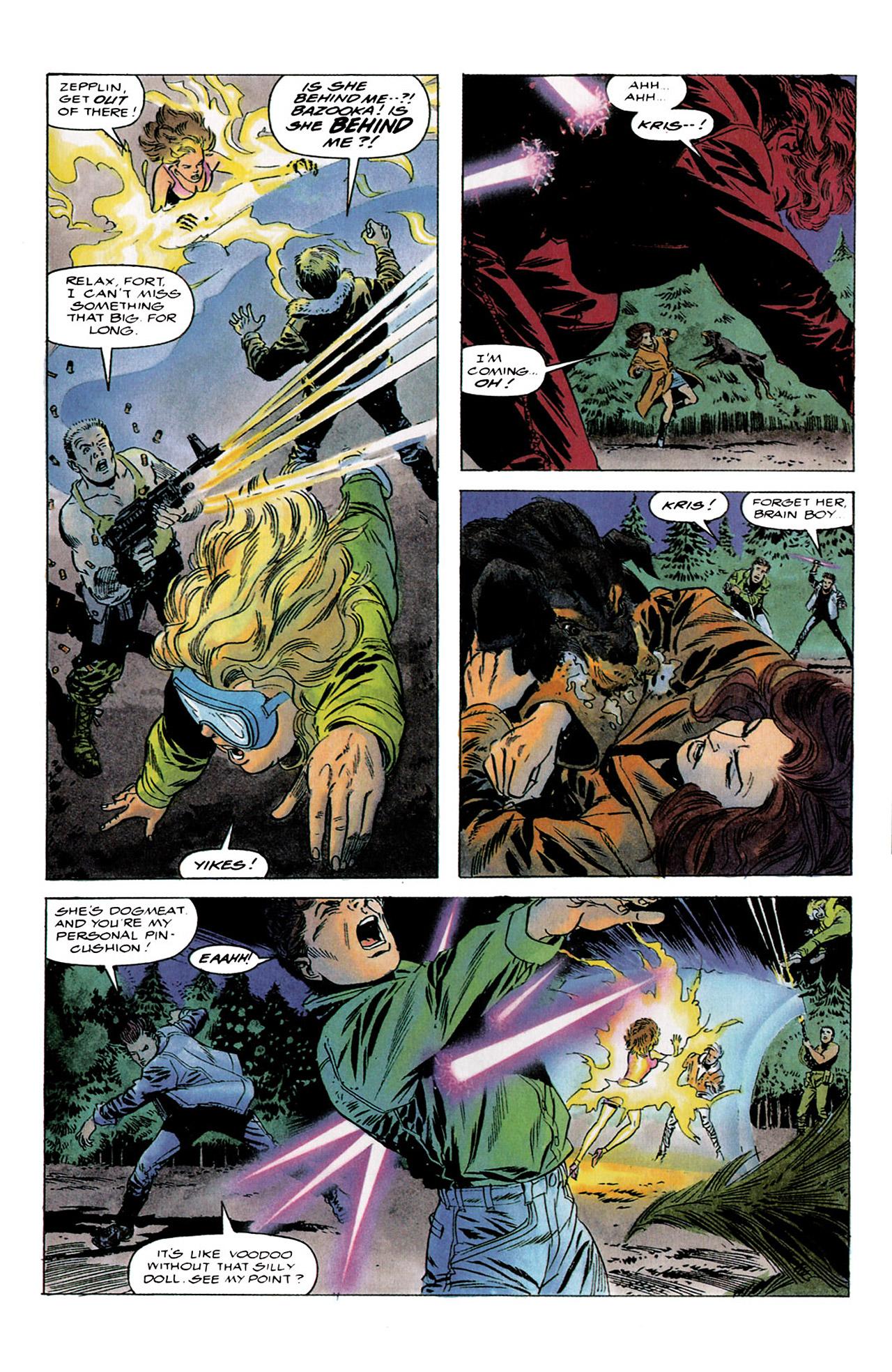 Read online Harbinger (1992) comic -  Issue #4 - 20