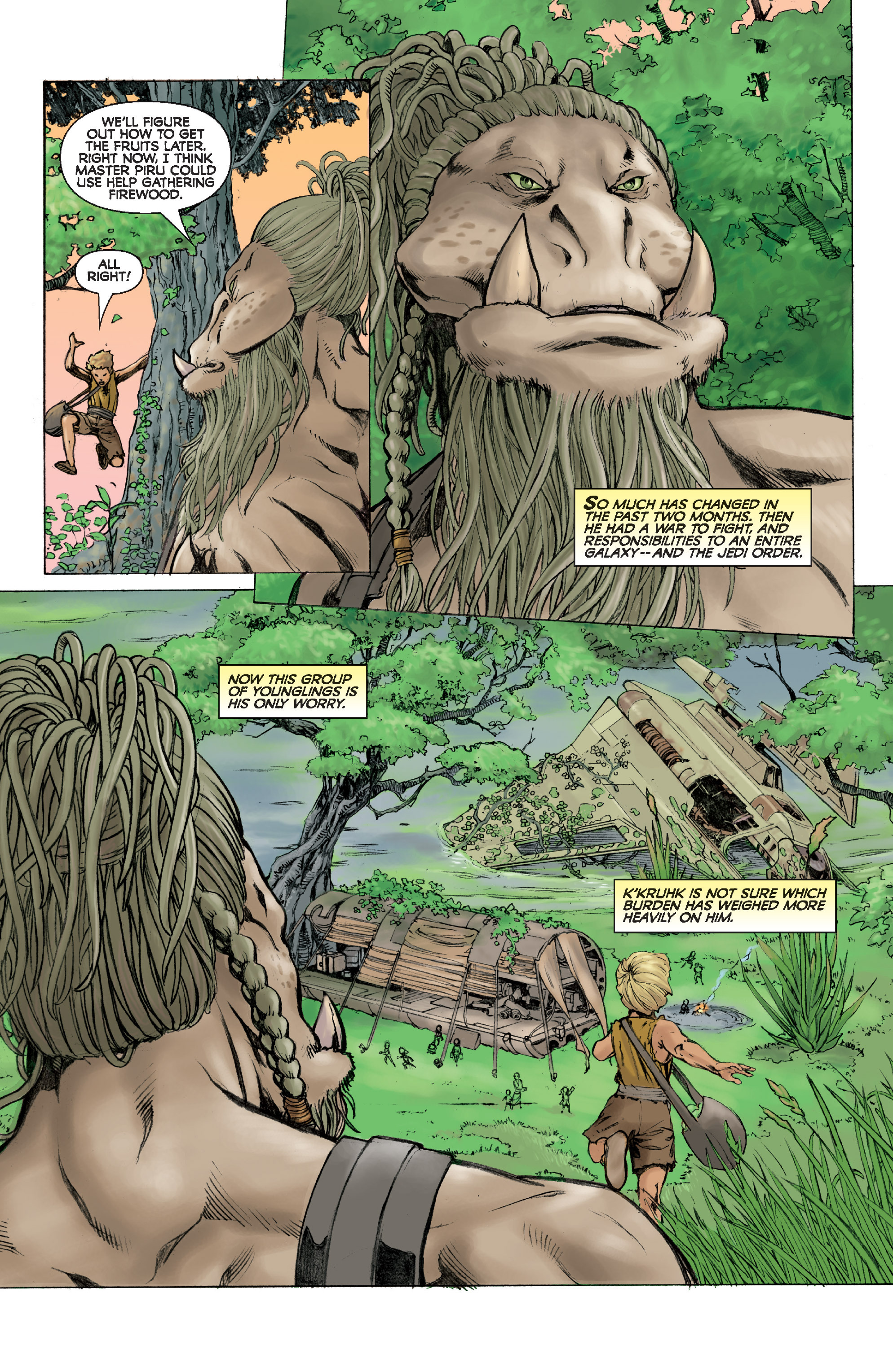 Read online Star Wars Omnibus comic -  Issue # Vol. 31 - 205