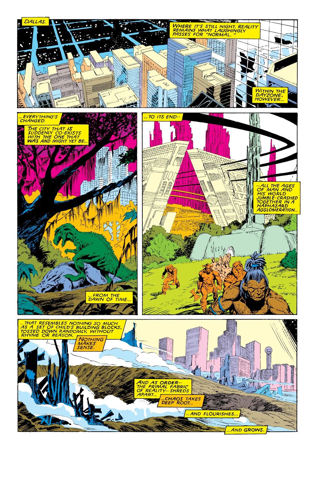 Read online X-Men Milestones: Fall of the Mutants comic -  Issue # TPB (Part 1) - 37