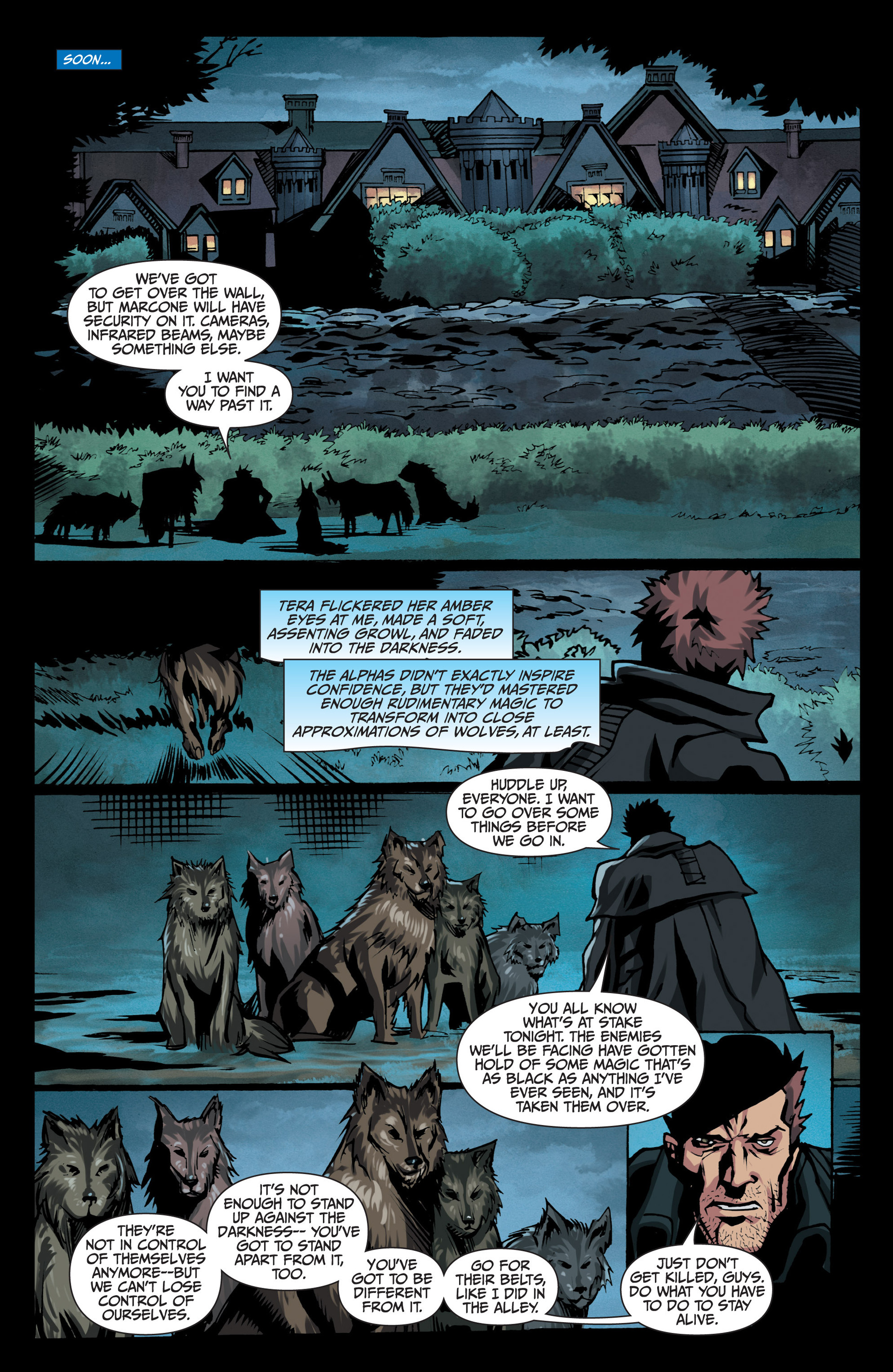 Read online Jim Butcher's The Dresden Files: Fool Moon comic -  Issue #7 - 20