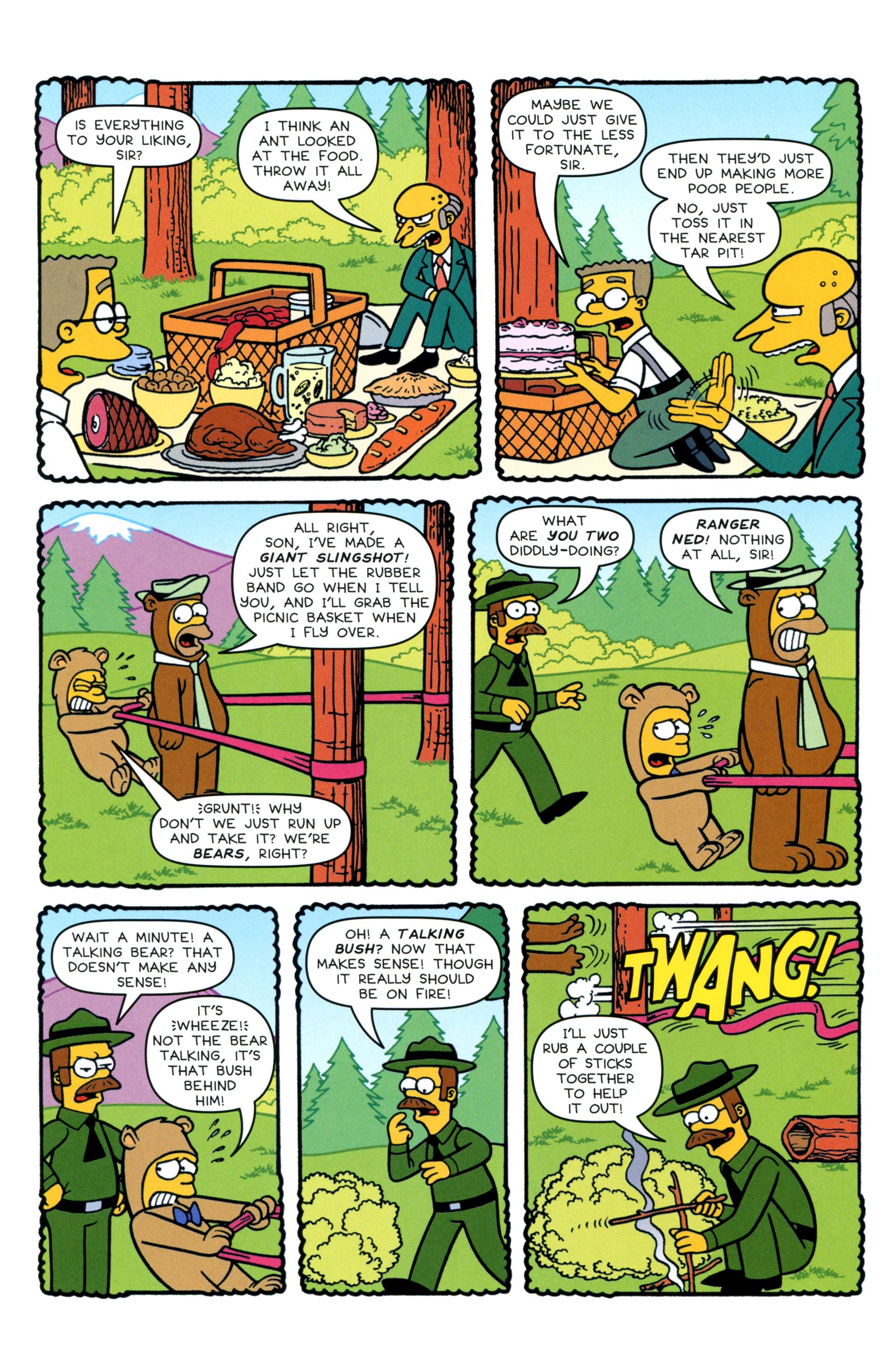 Read online Simpsons Comics comic -  Issue #200 - 18