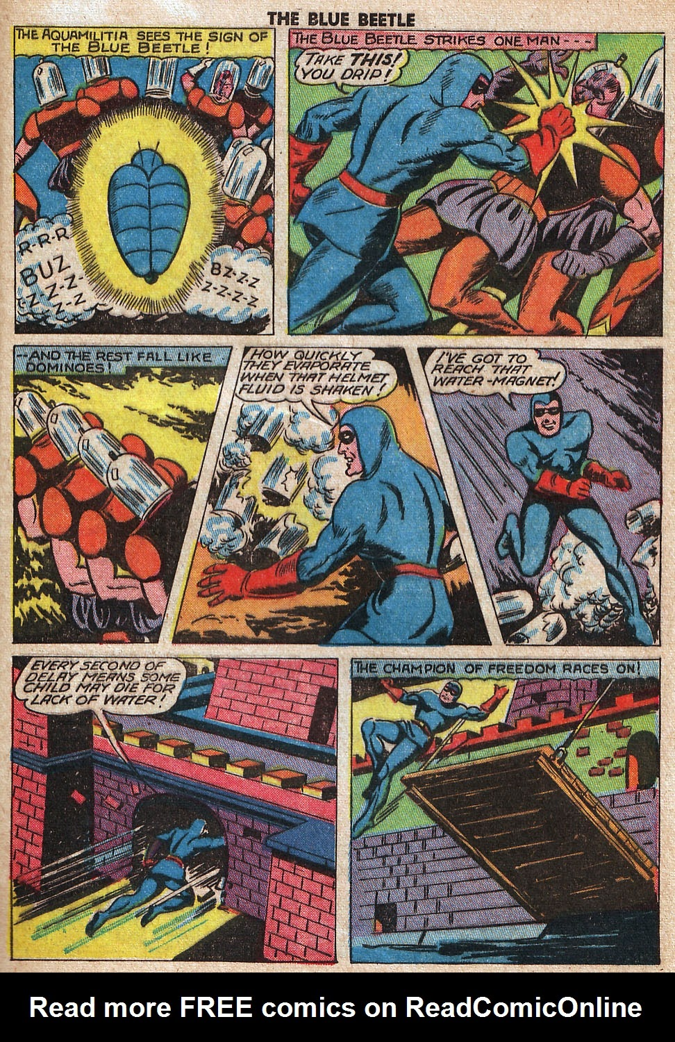 The Blue Beetle issue 33 - Page 47