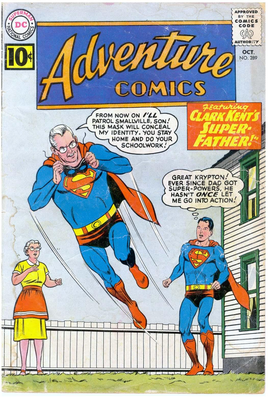 Adventure Comics (1938) 289 Page 1