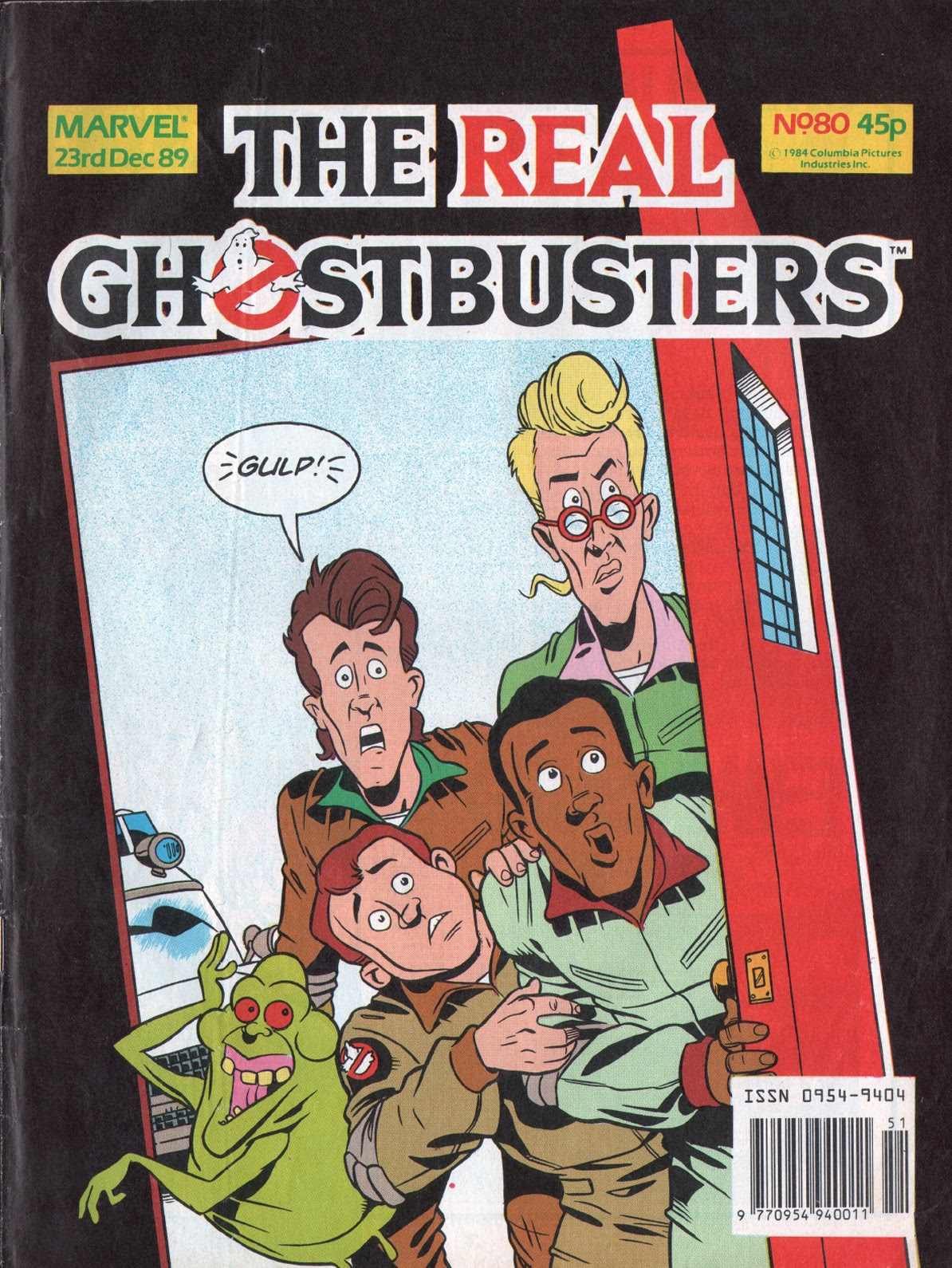 The Real Ghostbusters 80 Page 1