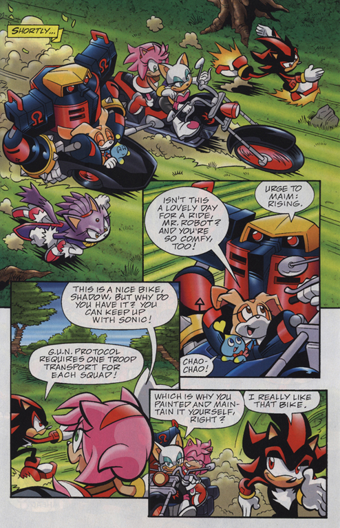 Read online Sonic Universe comic -  Issue #23 - 7