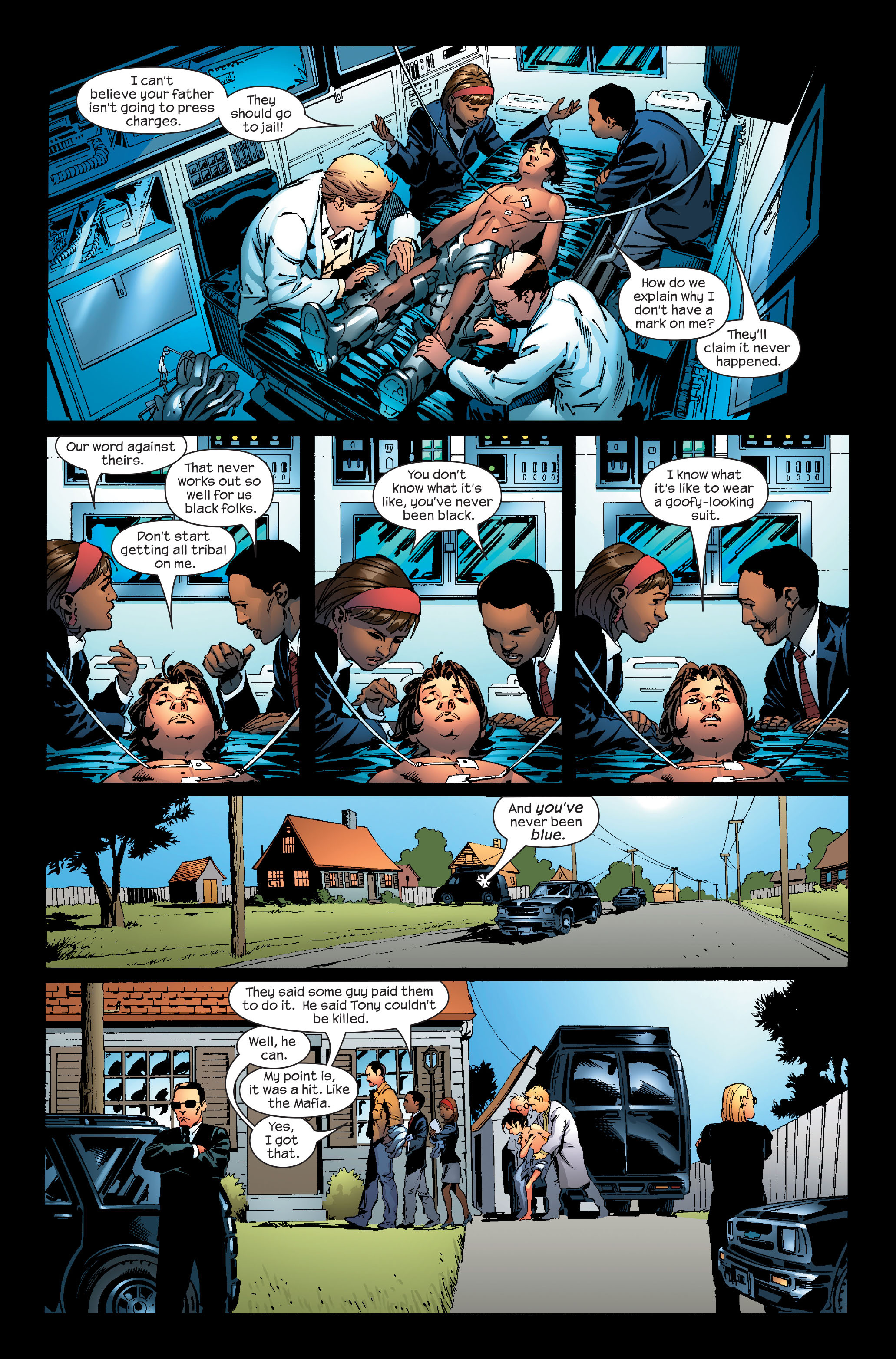 Read online Ultimate Iron Man (2005) comic -  Issue #4 - 14