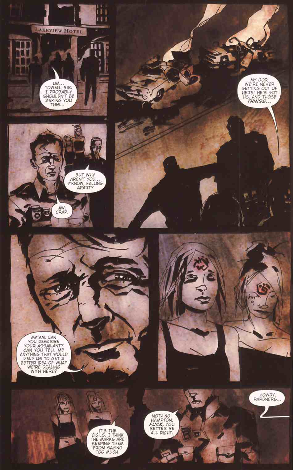 Read online Silent Hill: The Grinning Man comic -  Issue # Full - 34