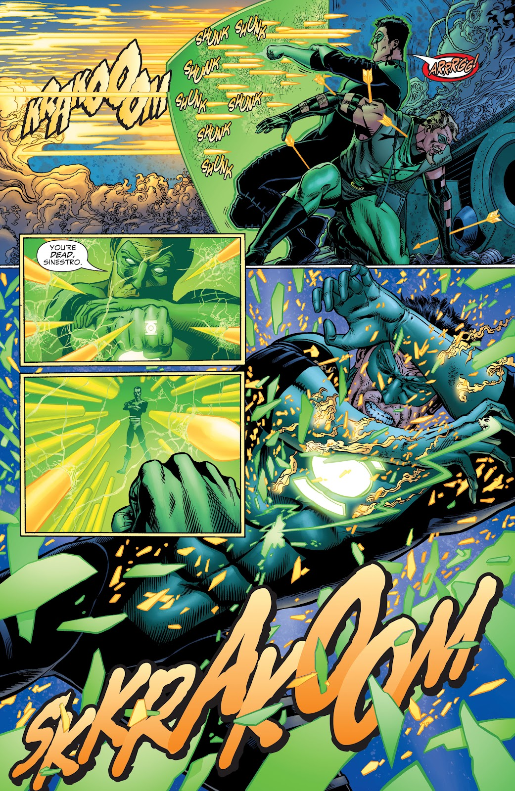 Read online Green Lantern by Geoff Johns comic -  Issue # TPB 1 (Part 1) - 92