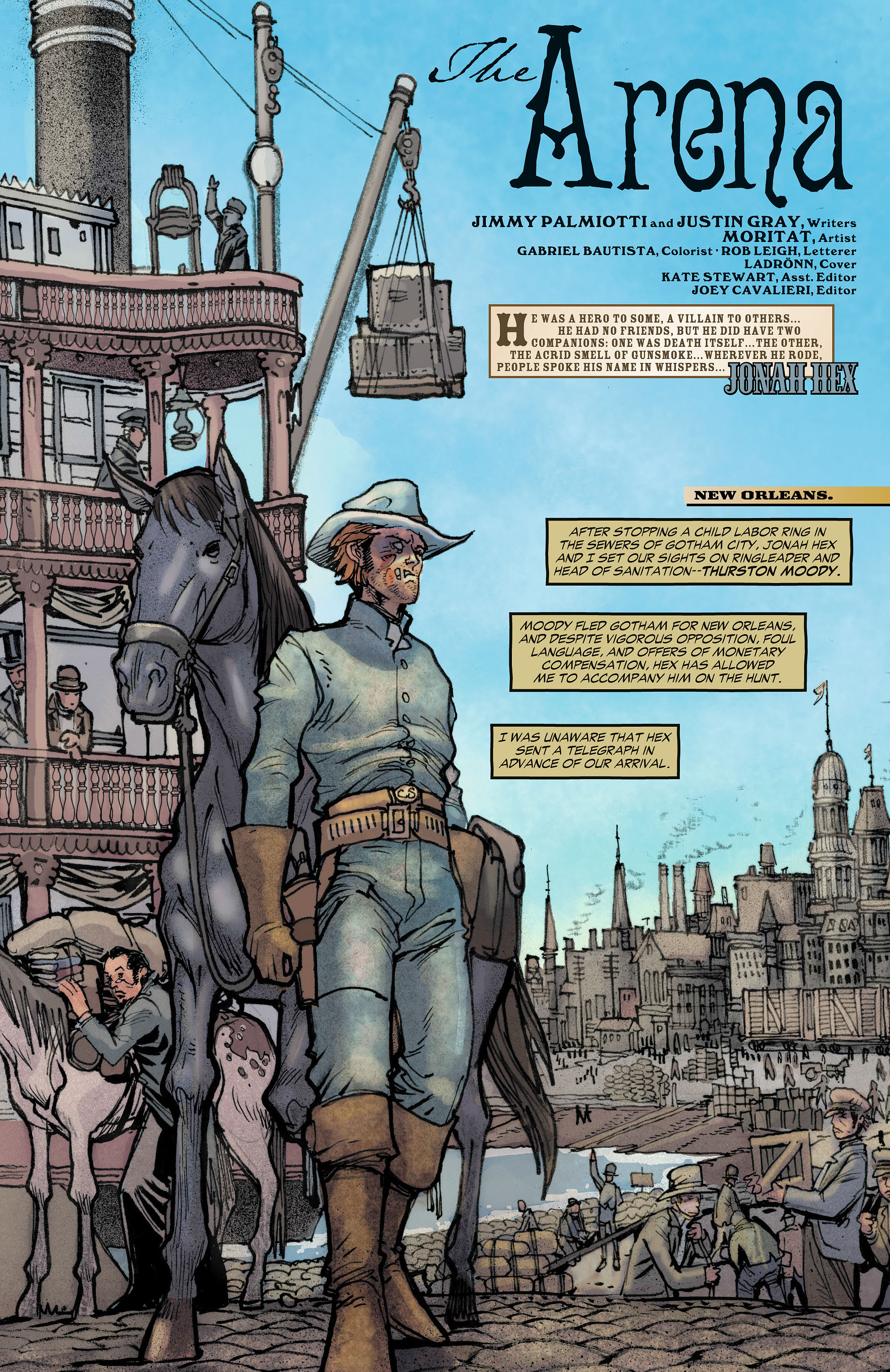Read online All-Star Western (2011) comic -  Issue #7 - 2