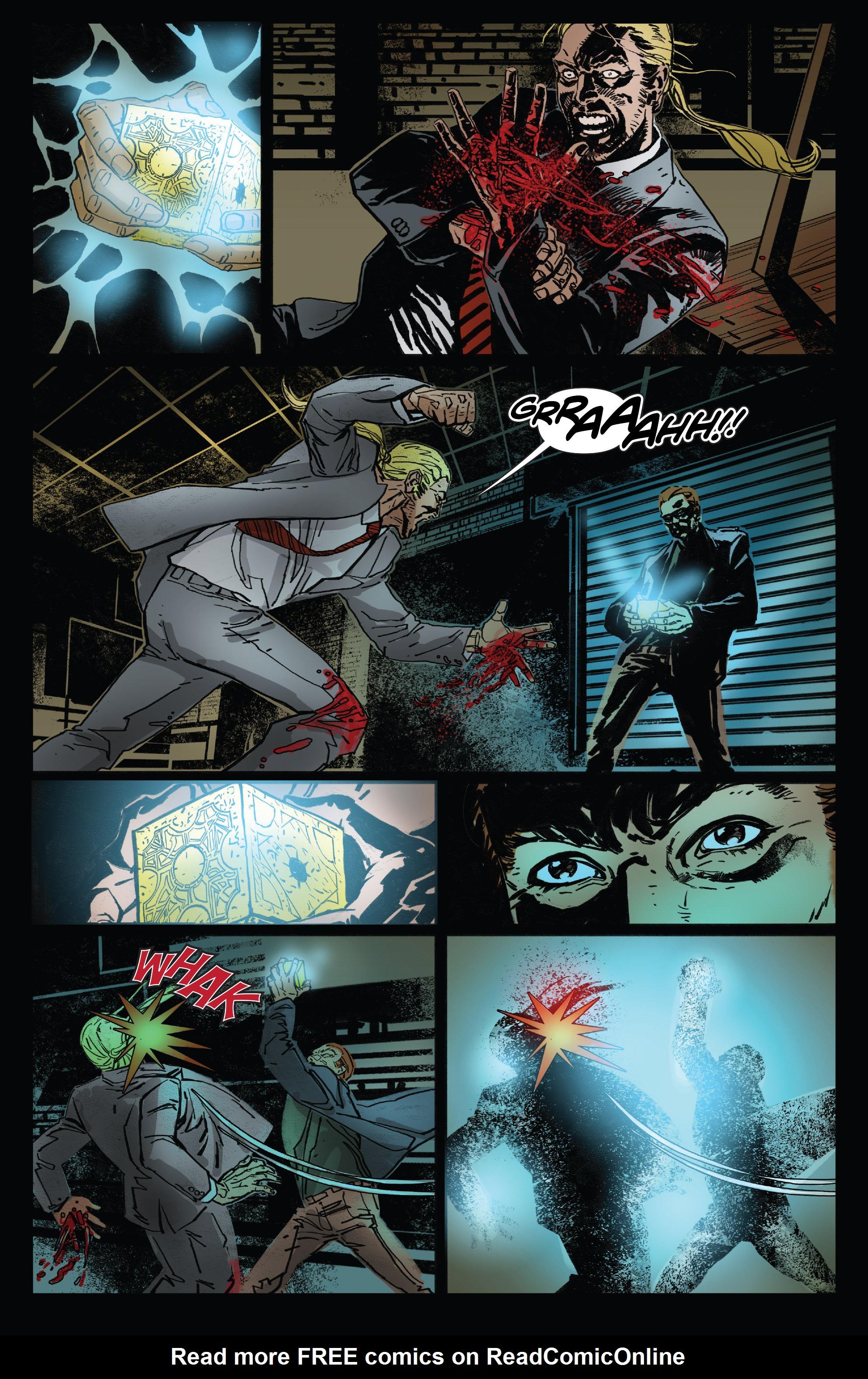 Read online Clive Barker's Hellraiser: The Dark Watch comic -  Issue # TPB 3 - 22