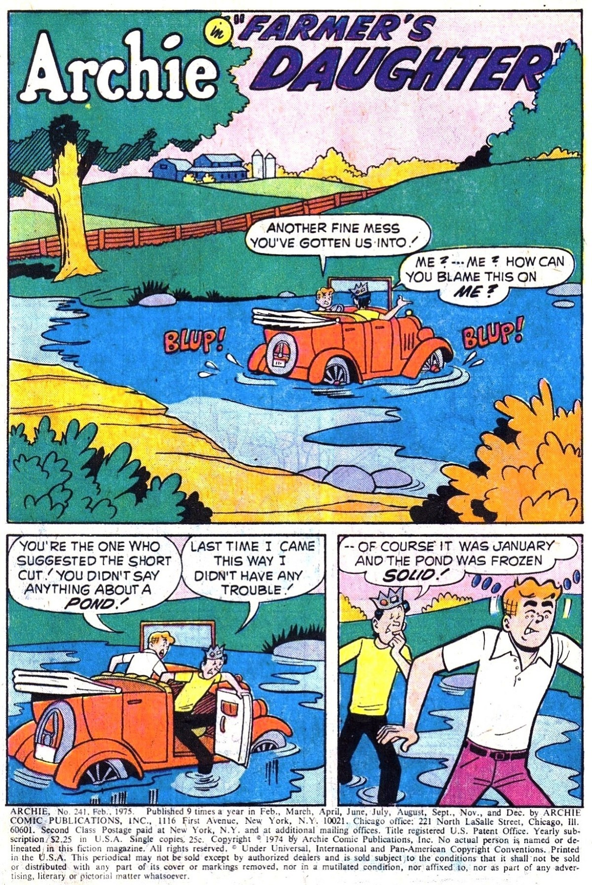 Read online Archie (1960) comic -  Issue #241 - 3