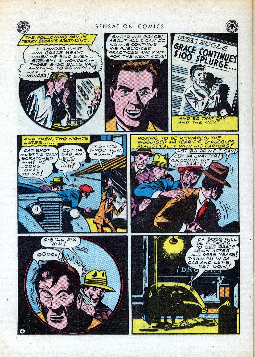Read online Sensation (Mystery) Comics comic -  Issue #41 - 28