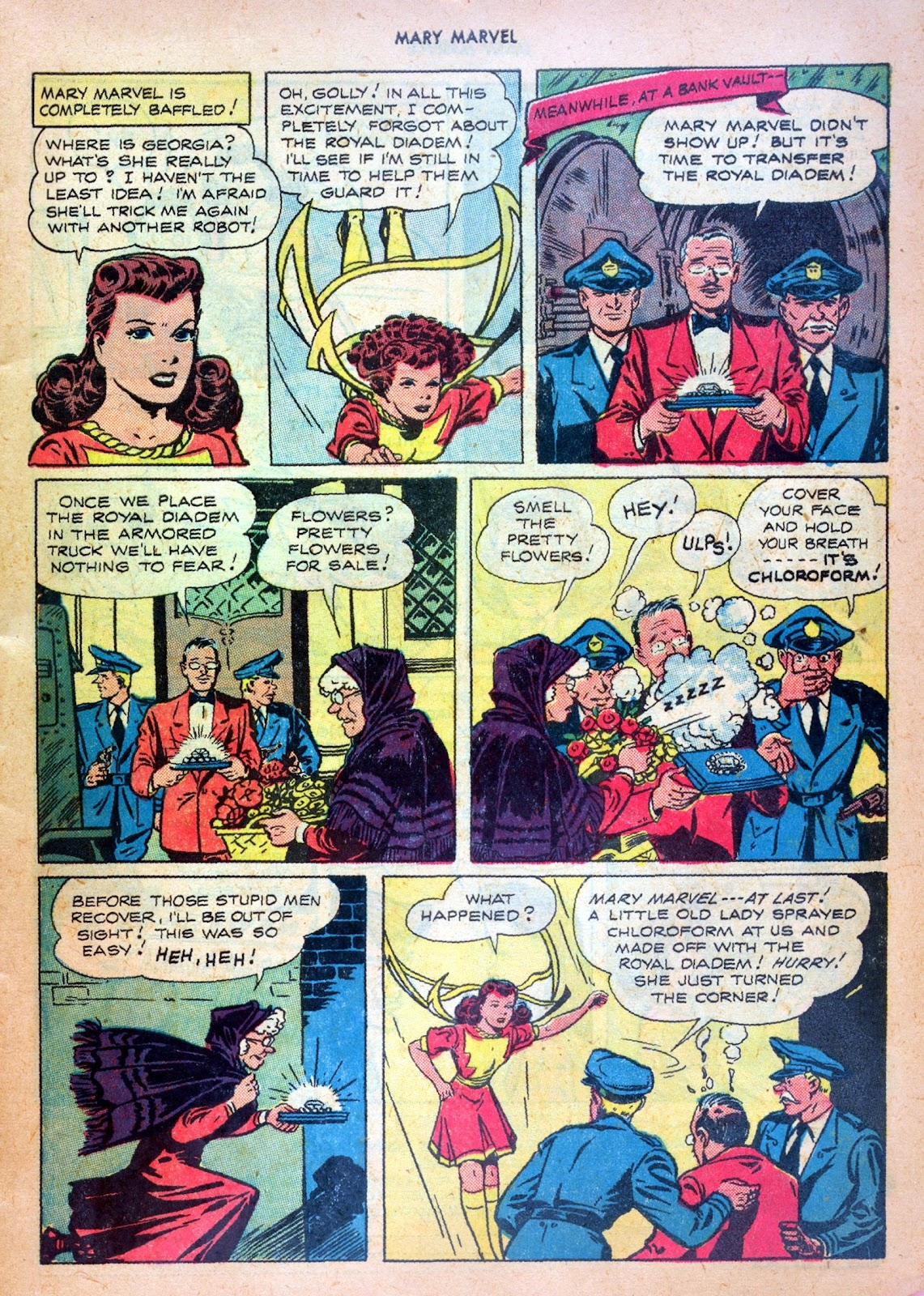 Read online Mary Marvel comic -  Issue #20 - 7
