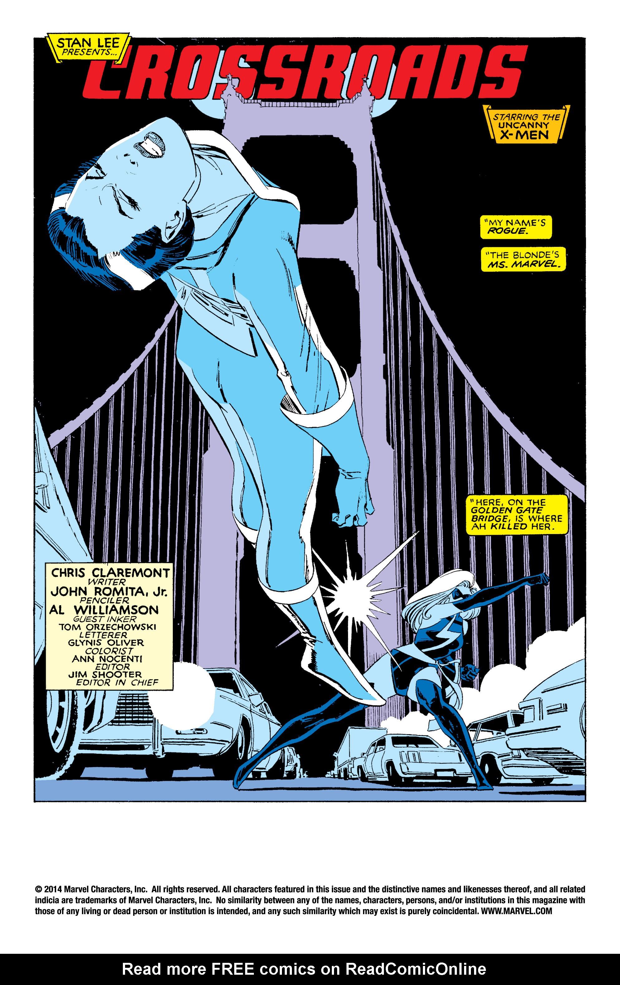 Read online Uncanny X-Men (1963) comic -  Issue #203 - 2