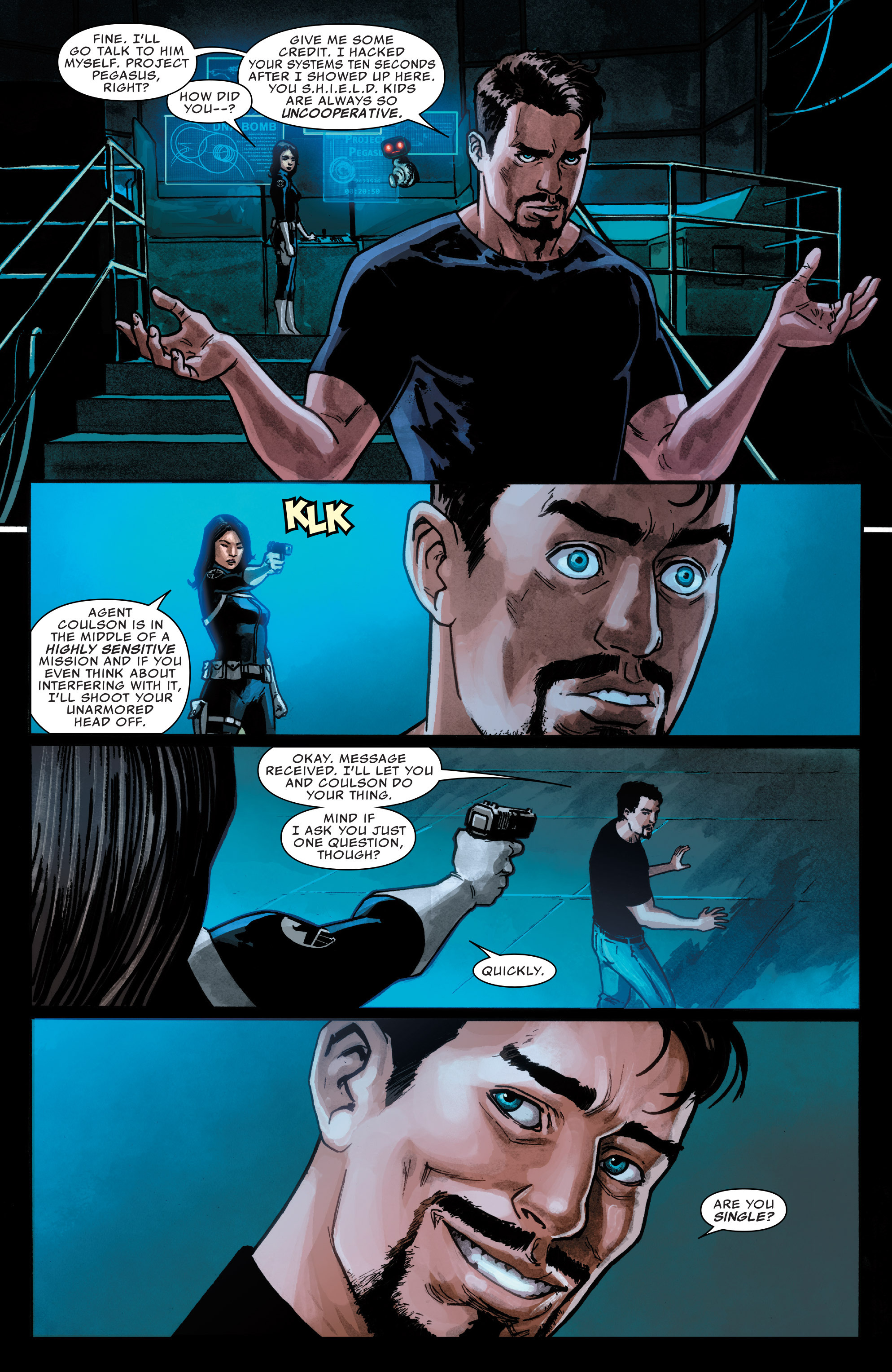 Read online Agents of S.H.I.E.L.D. comic -  Issue #1 - 6