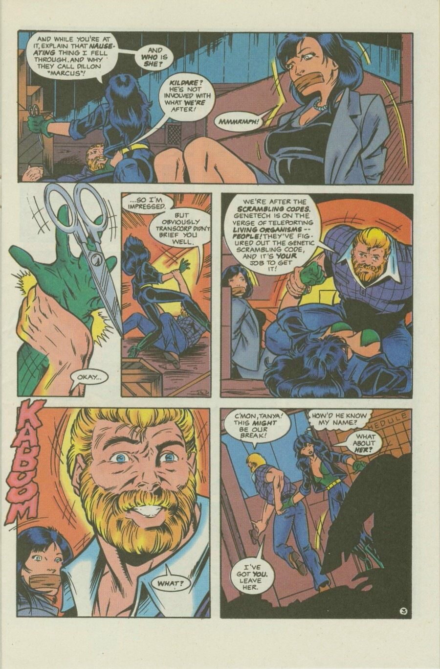 Read online Ex-Mutants comic -  Issue #8 - 5