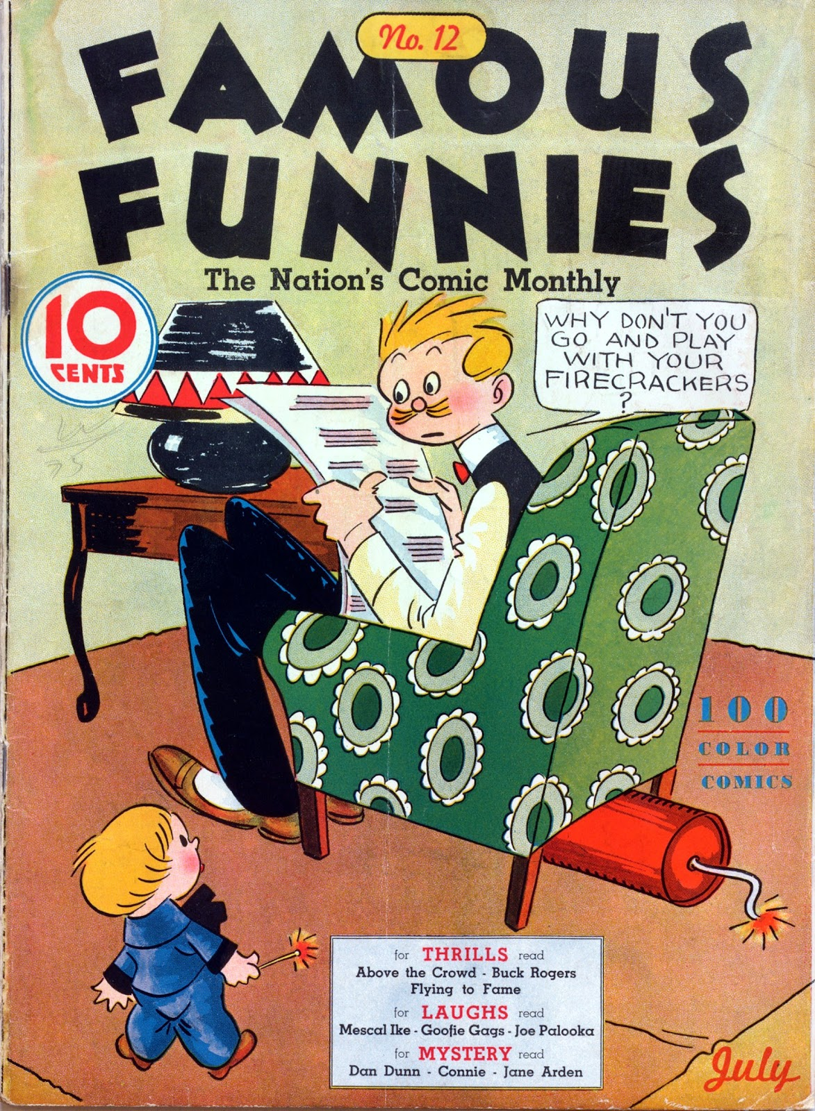 Read online Famous Funnies comic -  Issue #12 - 1