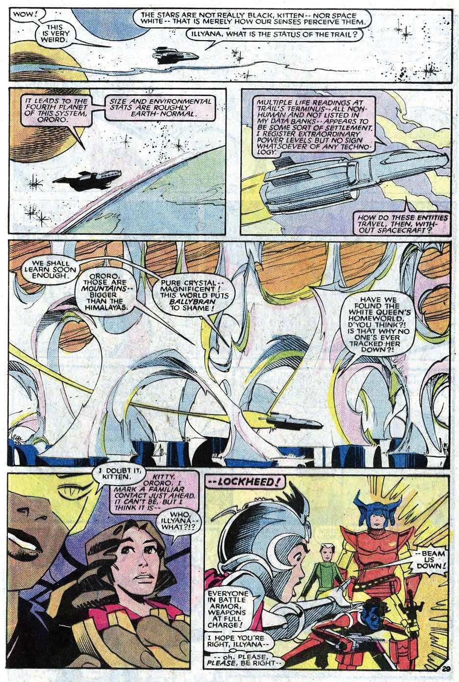 Read online Uncanny X-Men (1963) comic -  Issue # _Annual 8 - 35