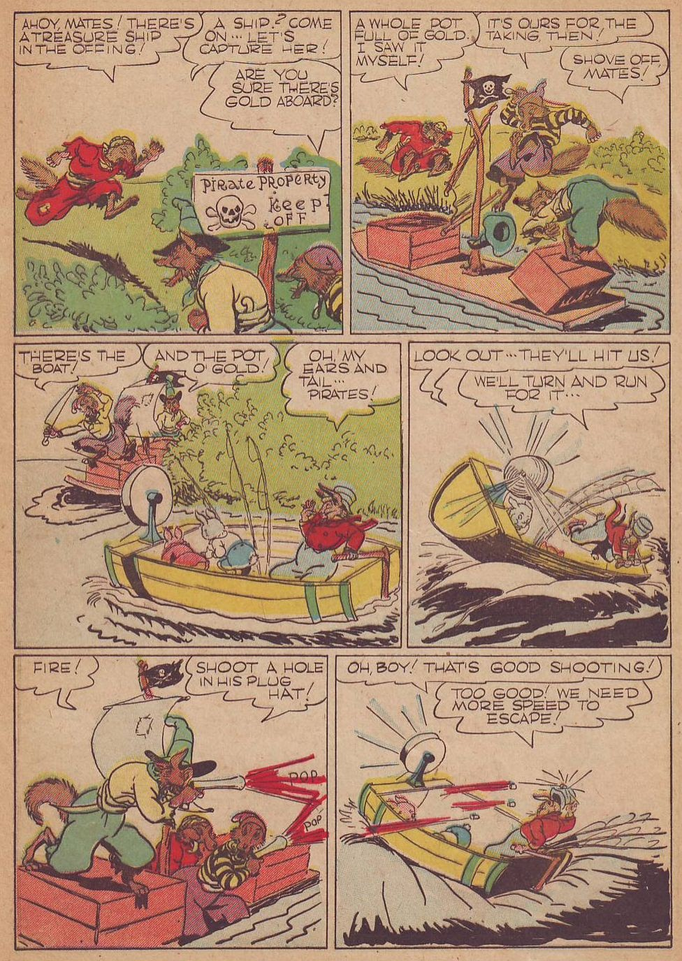 Read online Animal Comics comic -  Issue #8 - 8