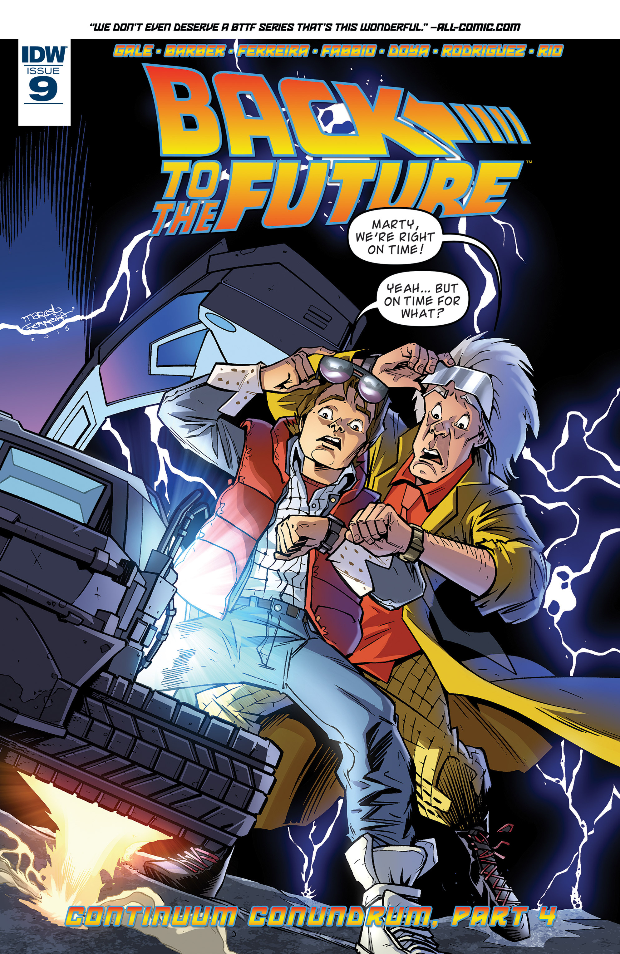 Back to the Future (2015) 9 Page 1