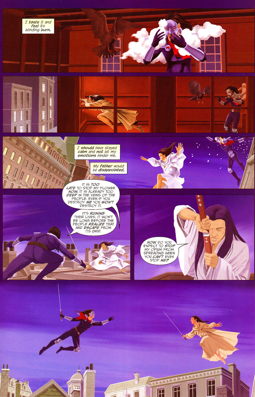 Read online ShadowHawk (2005) comic -  Issue #13 - 16
