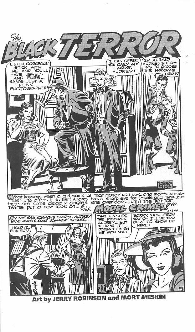 Read online Golden-Age Men of Mystery comic -  Issue #11 - 13