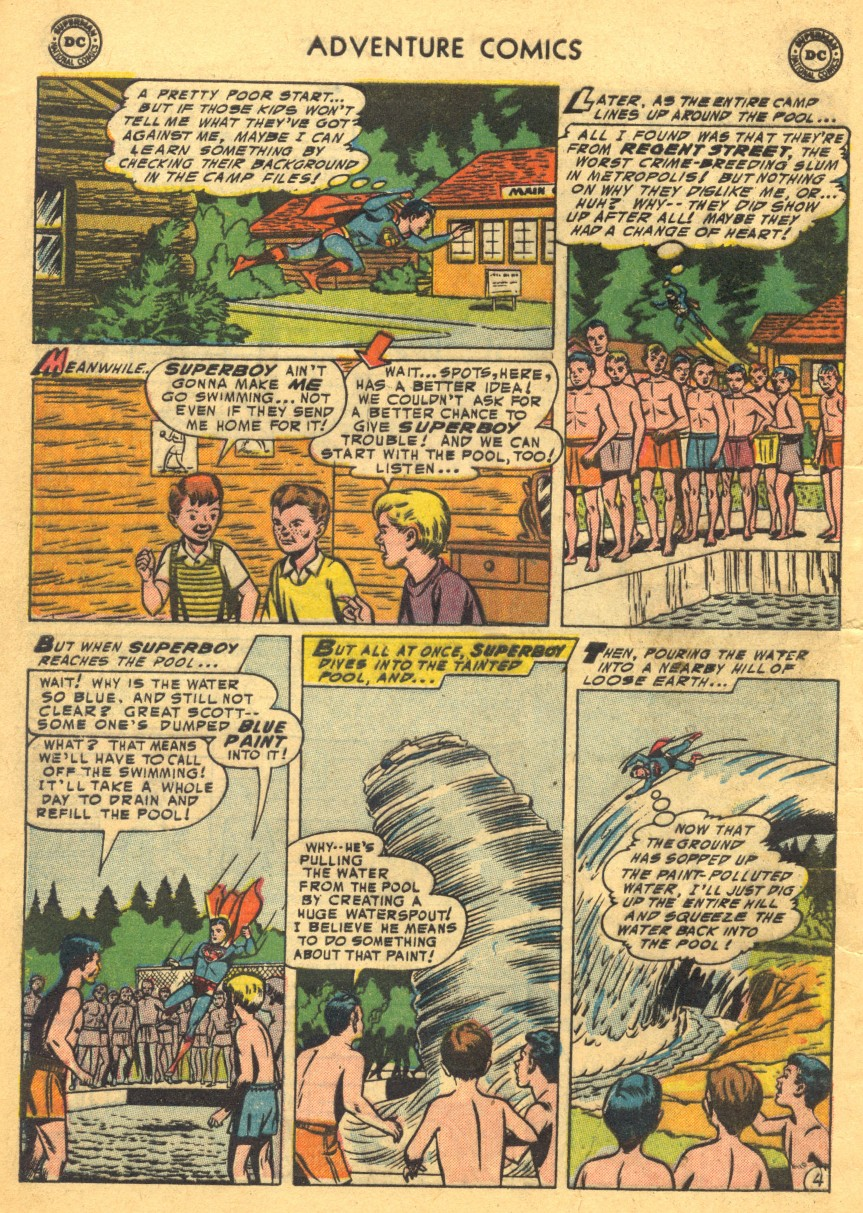 Read online Adventure Comics (1938) comic -  Issue #203 - 6