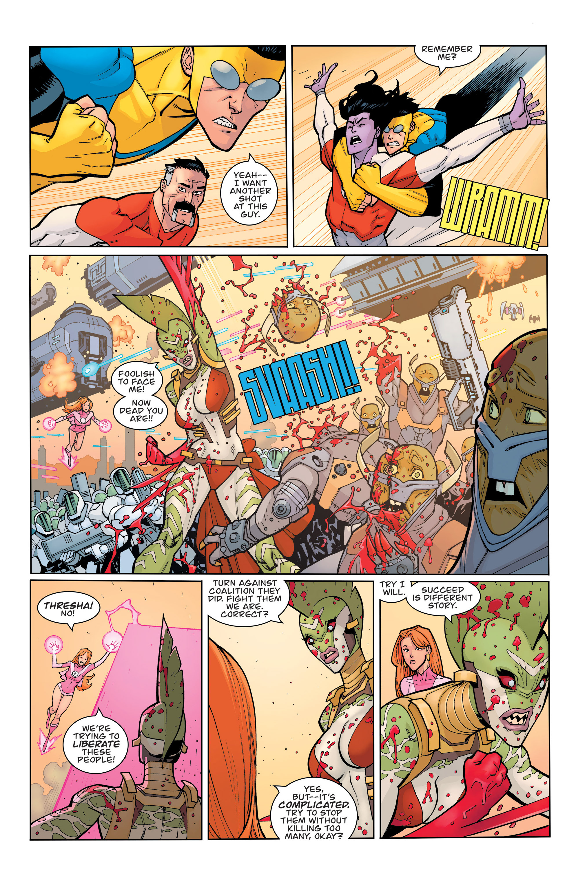 Read online Invincible comic -  Issue #135 - 7