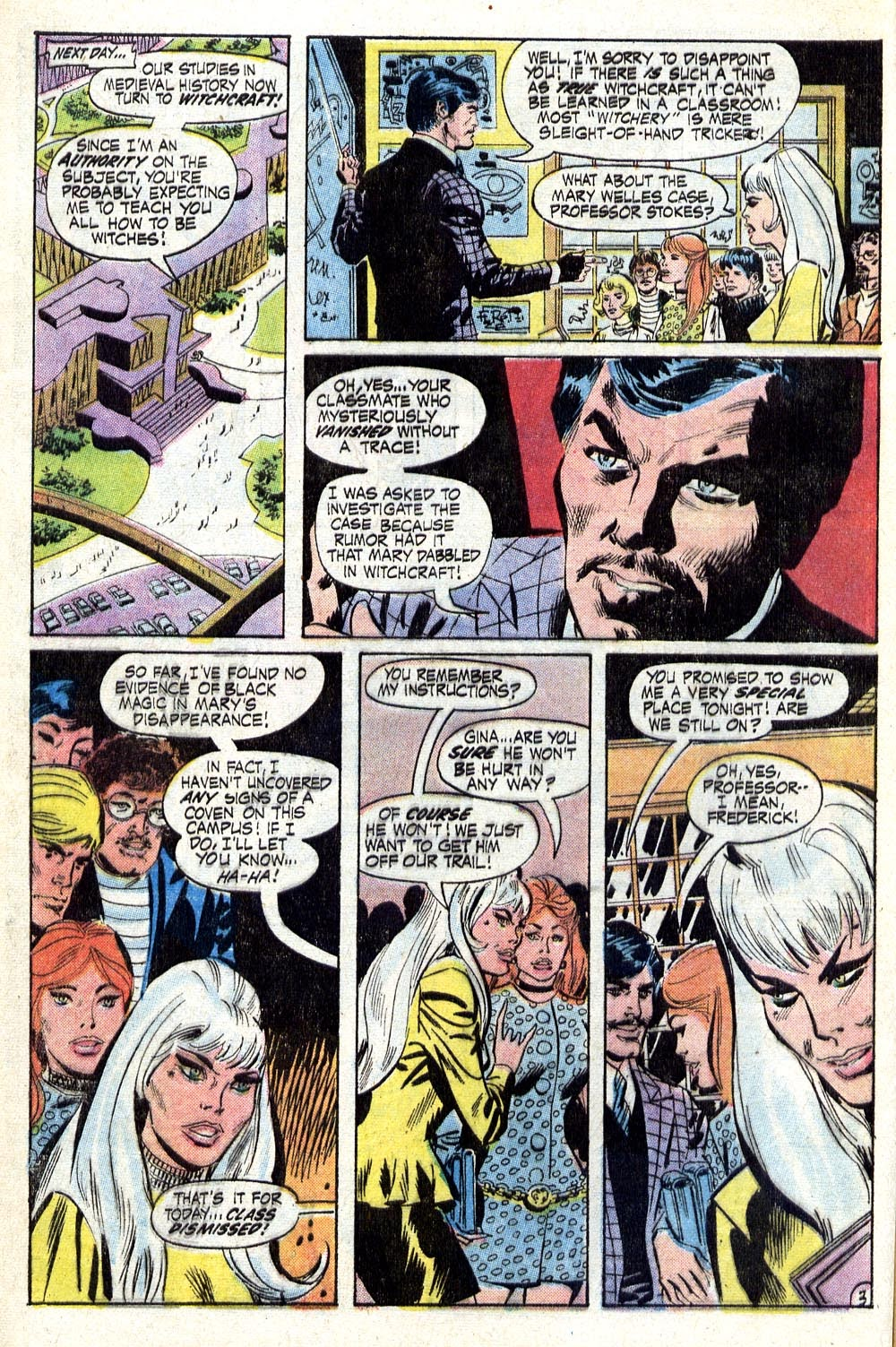 The Witching Hour (1969) issue 17 - Page 5