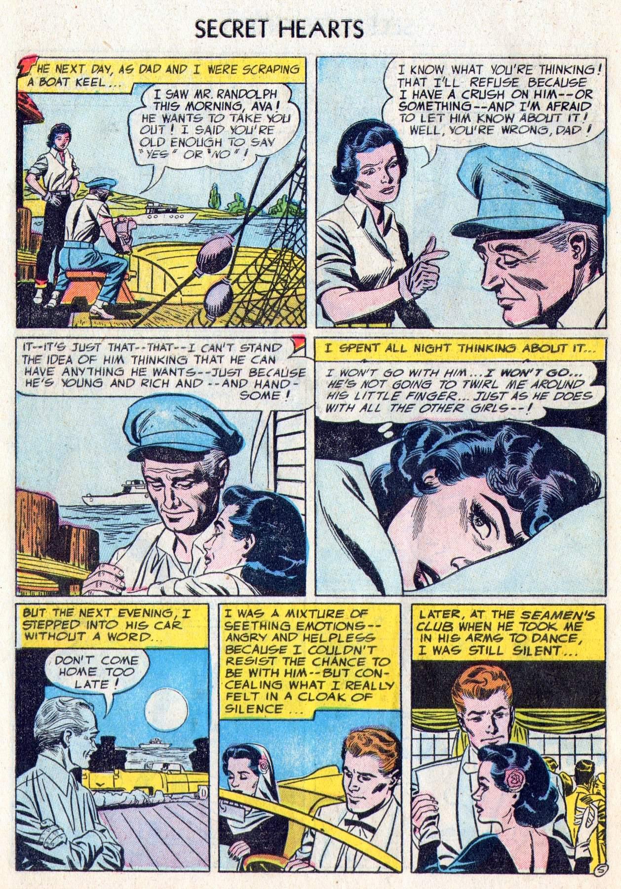 Read online Secret Hearts comic -  Issue #28 - 30