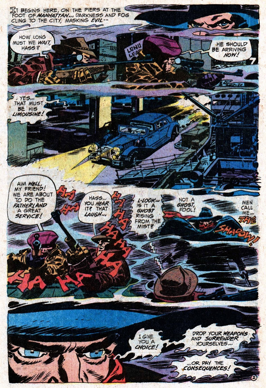 The Shadow (1973) issue 5 - Page 4