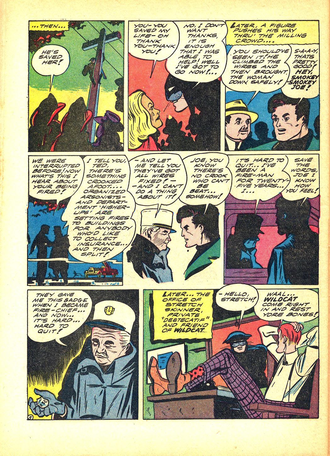 Read online Sensation (Mystery) Comics comic -  Issue #8 - 60