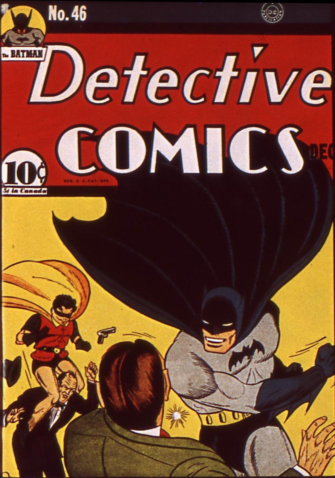 Detective Comics (1937) 46 Page 1