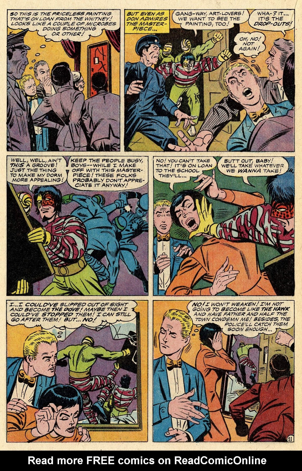 The Hawk and the Dove issue 1 - Page 16