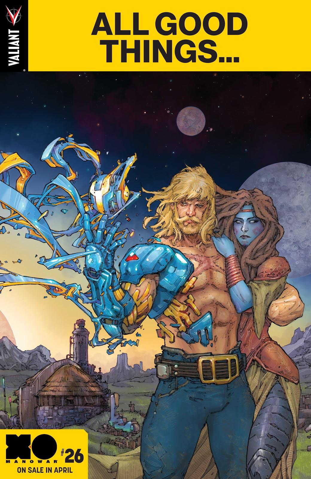 Read online X-O Manowar (2017) comic -  Issue #25 - 23