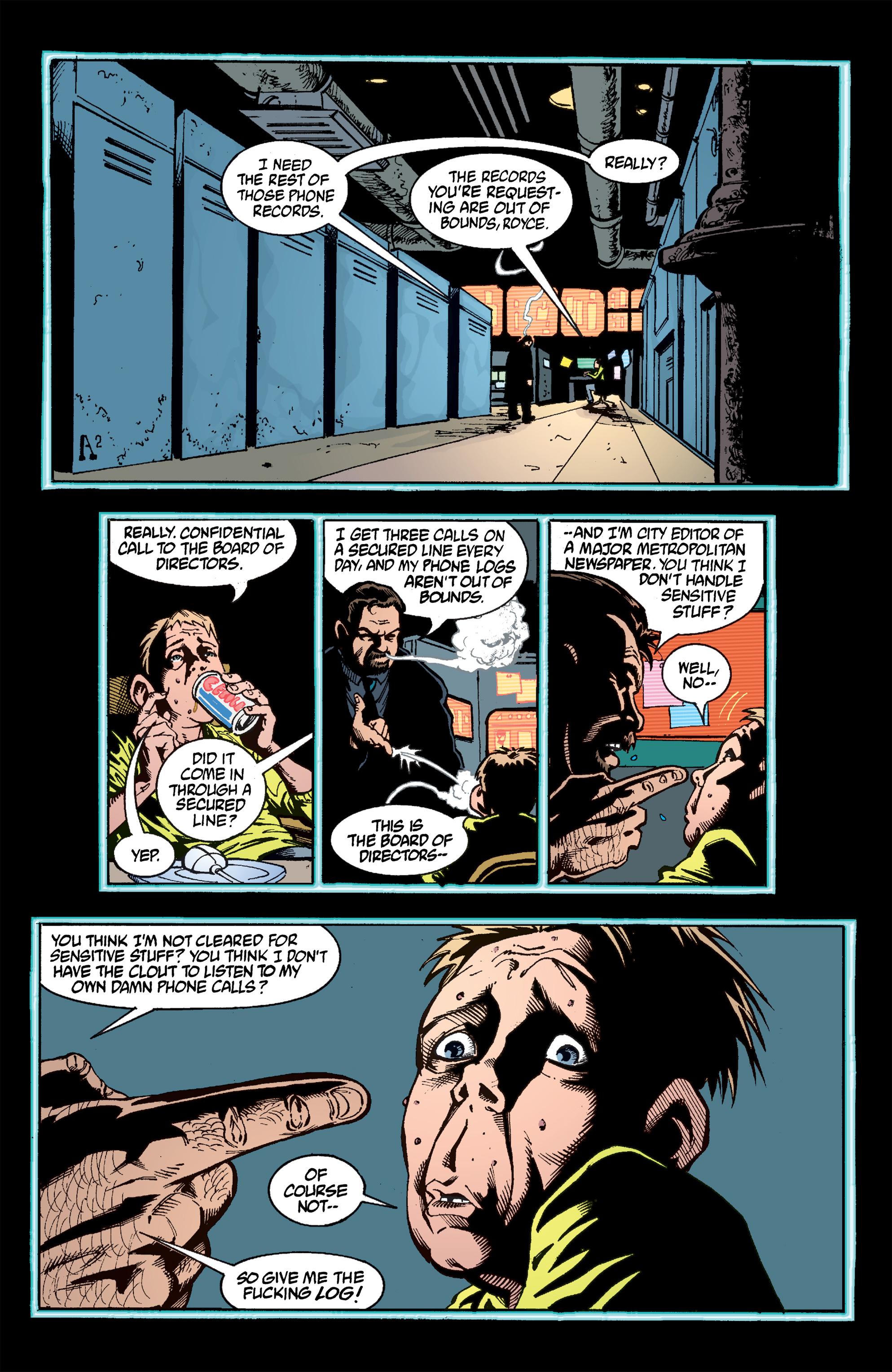 Read online Transmetropolitan comic -  Issue #51 - 9