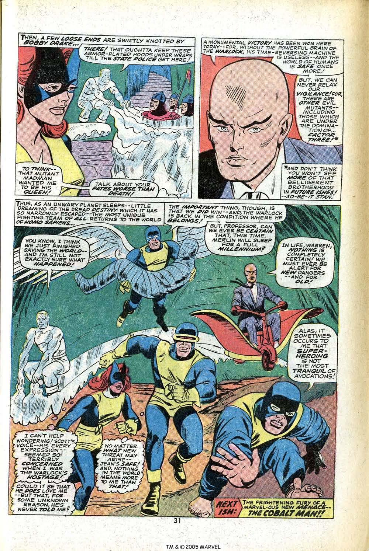 Read online Uncanny X-Men (1963) comic -  Issue #78 - 33
