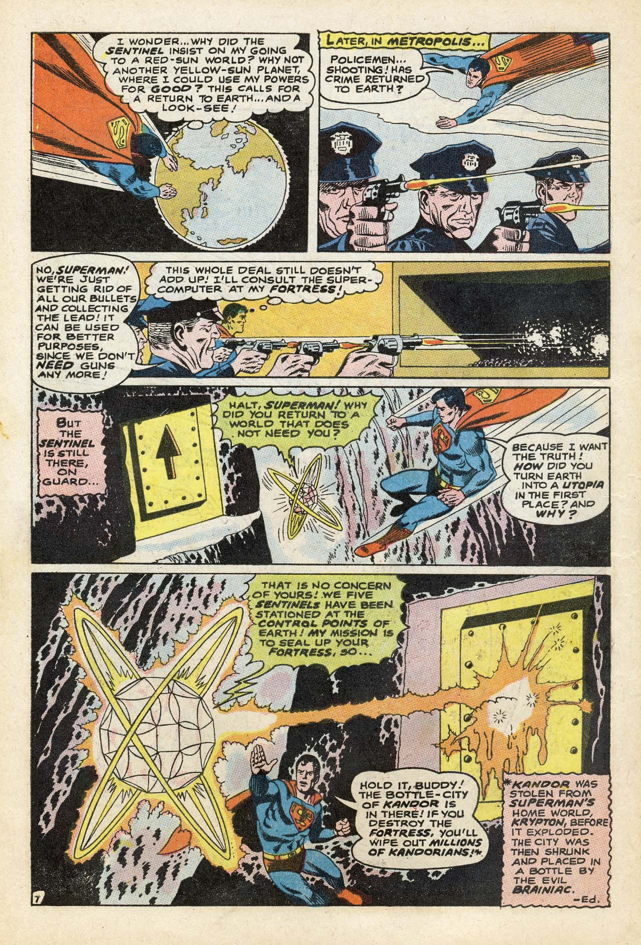 Read online Action Comics (1938) comic -  Issue #369 - 10