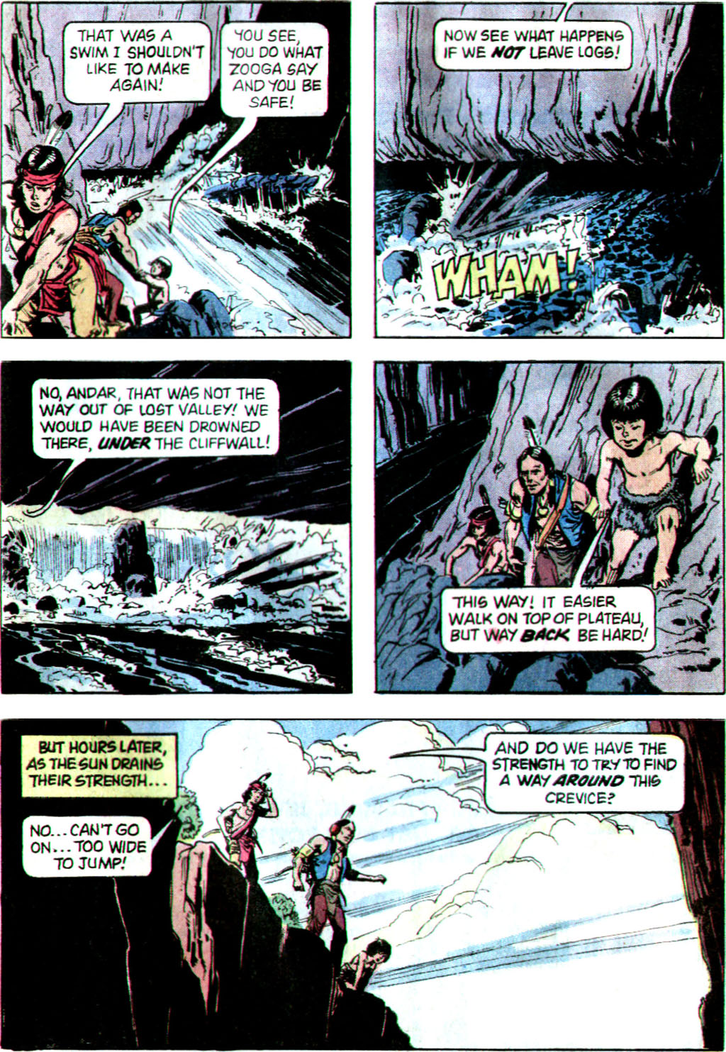 Read online Turok, Son of Stone comic -  Issue #122 - 29