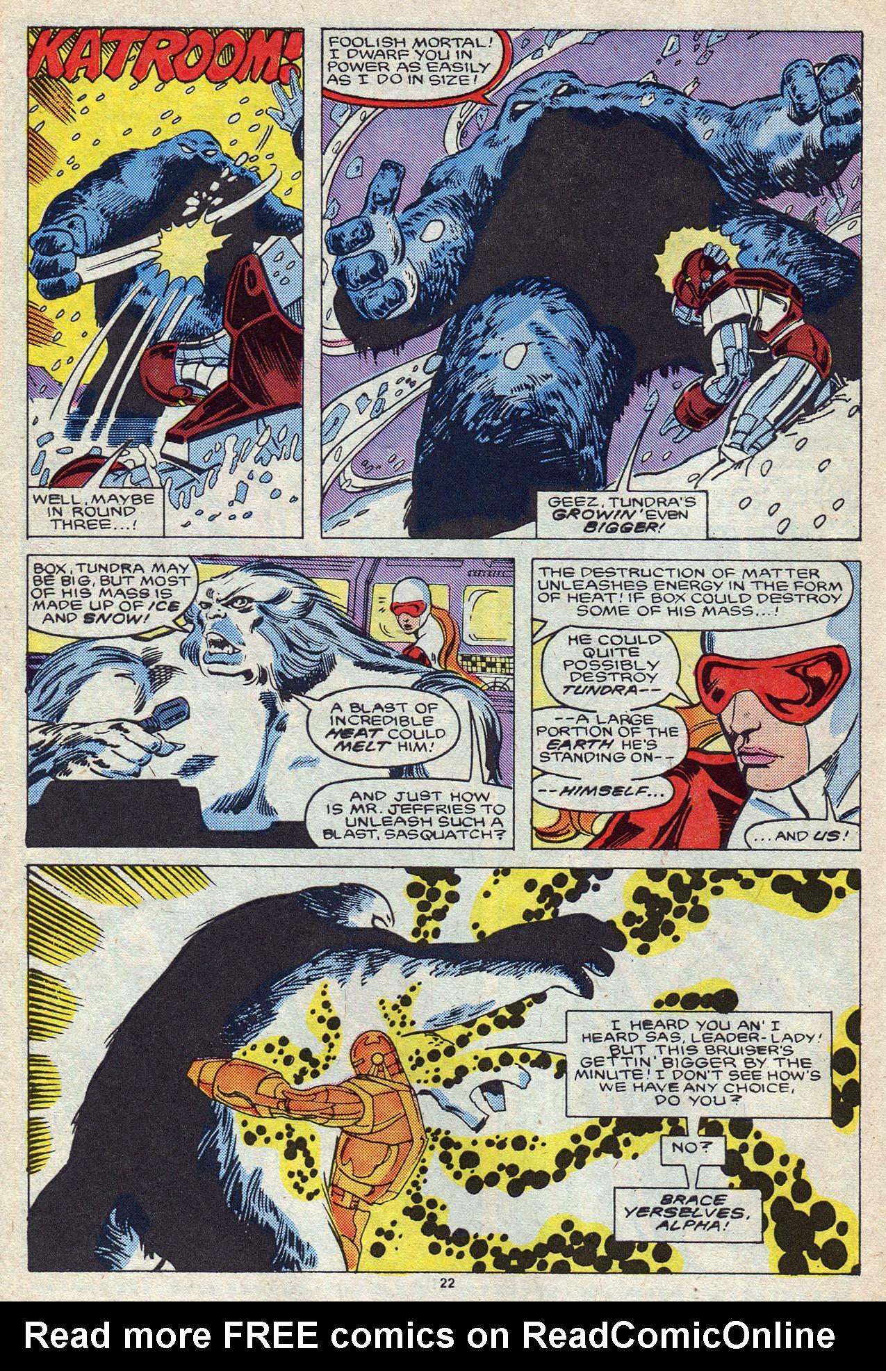 Read online Alpha Flight (1983) comic -  Issue #55 - 31