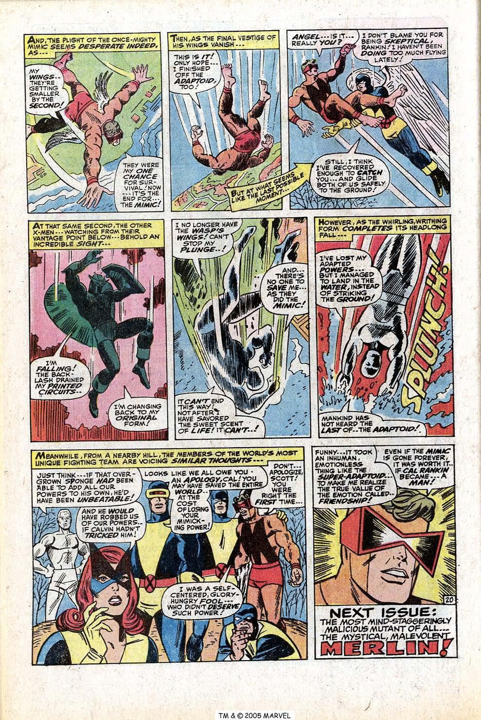 Read online Uncanny X-Men (1963) comic -  Issue #77 - 32