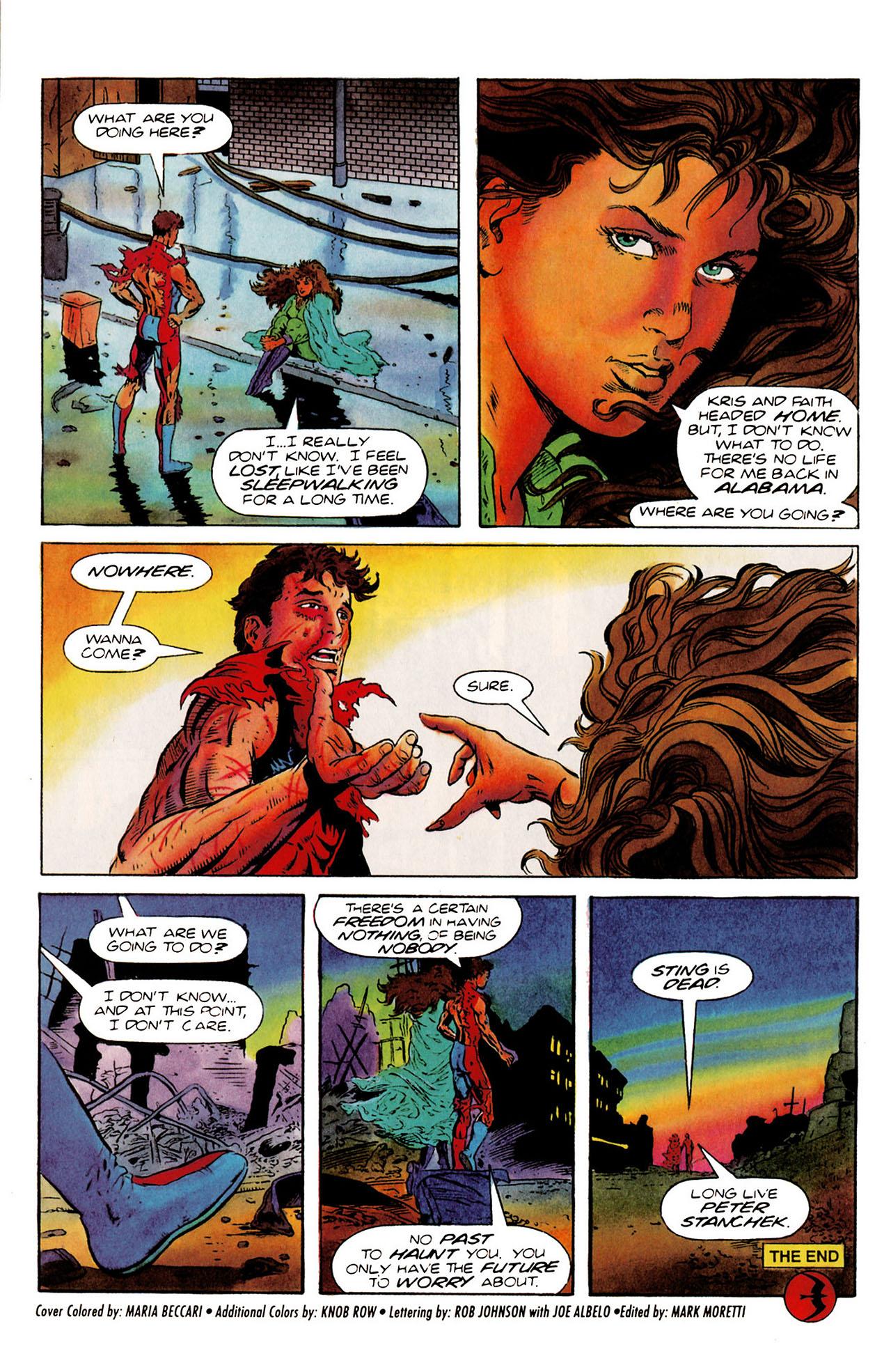 Read online Harbinger (1992) comic -  Issue #25 - 34